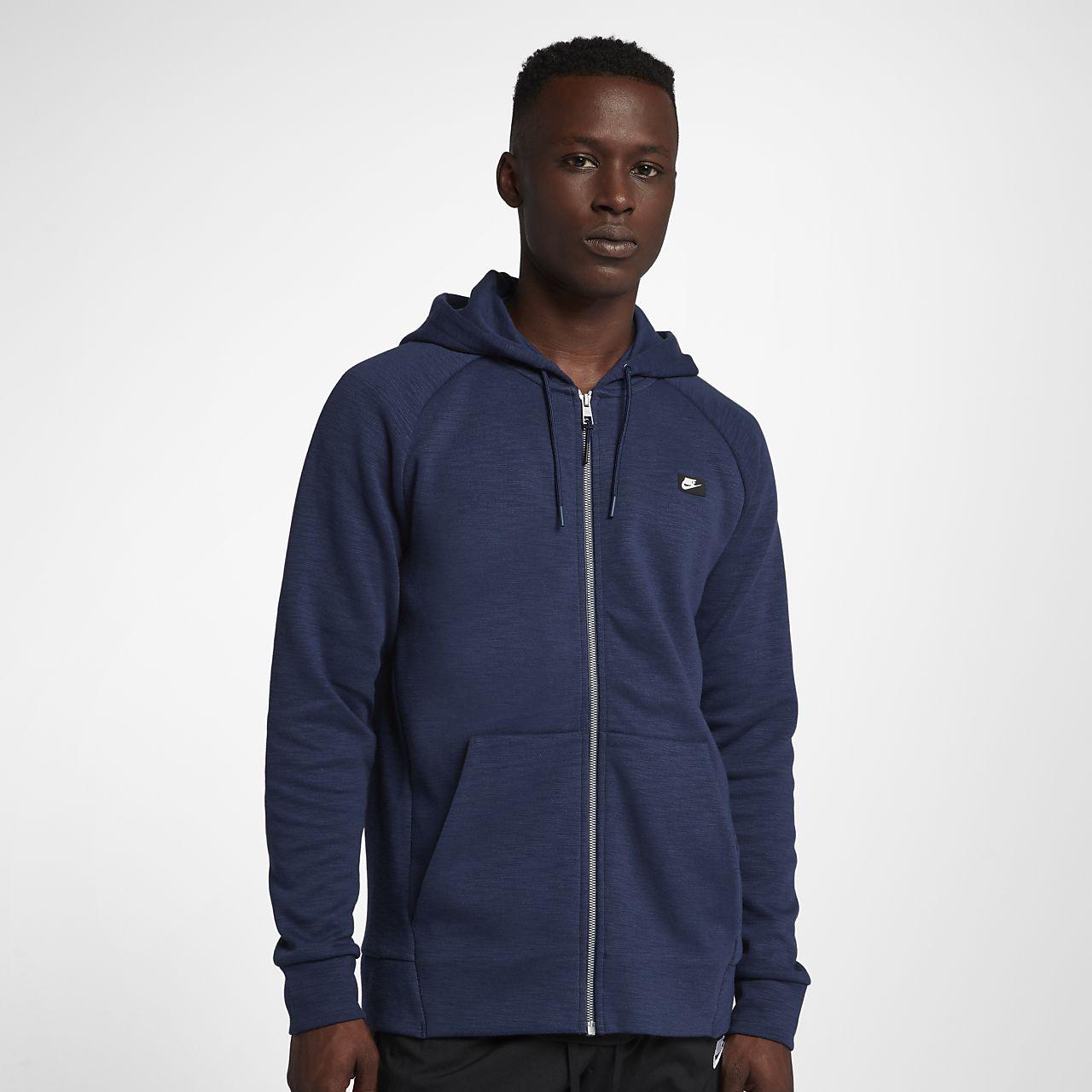 fc55ac18f18c11 Sweat à capuche entièrement zippé Nike Sportswear Optic pour Homme ...