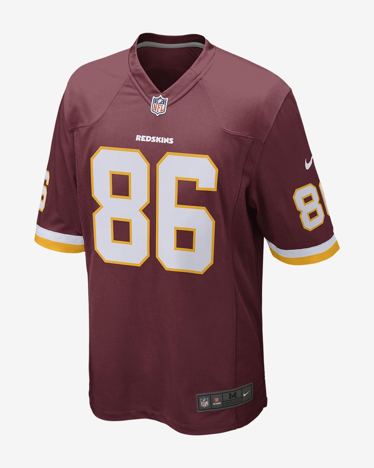 NFL Washington Redskins (Jordan Reed) Men's Football Game Jersey