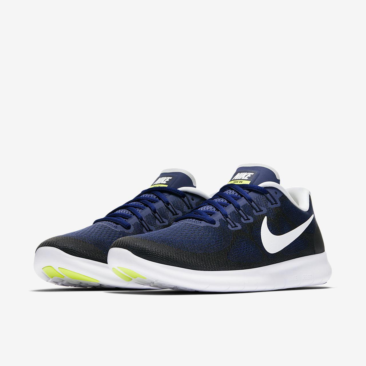 c6e8f2db37452 ... 2 Royal Blue Navy White 880740 001 Mens Running Shoes ... Nike Free RN  2017 Mens Running Shoe .