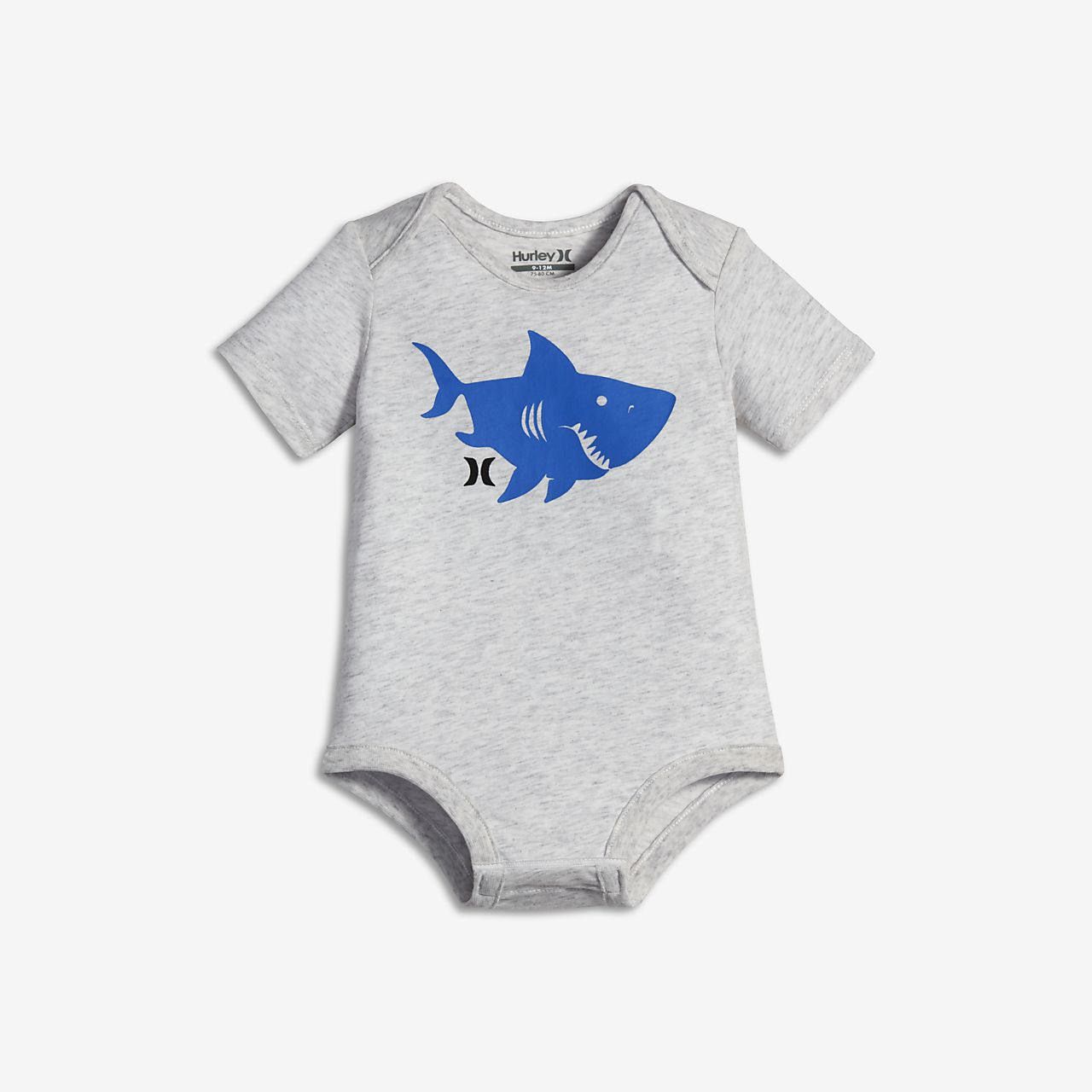 ... Hurley Sharky Silo Creeper Infant (Boys') Romper