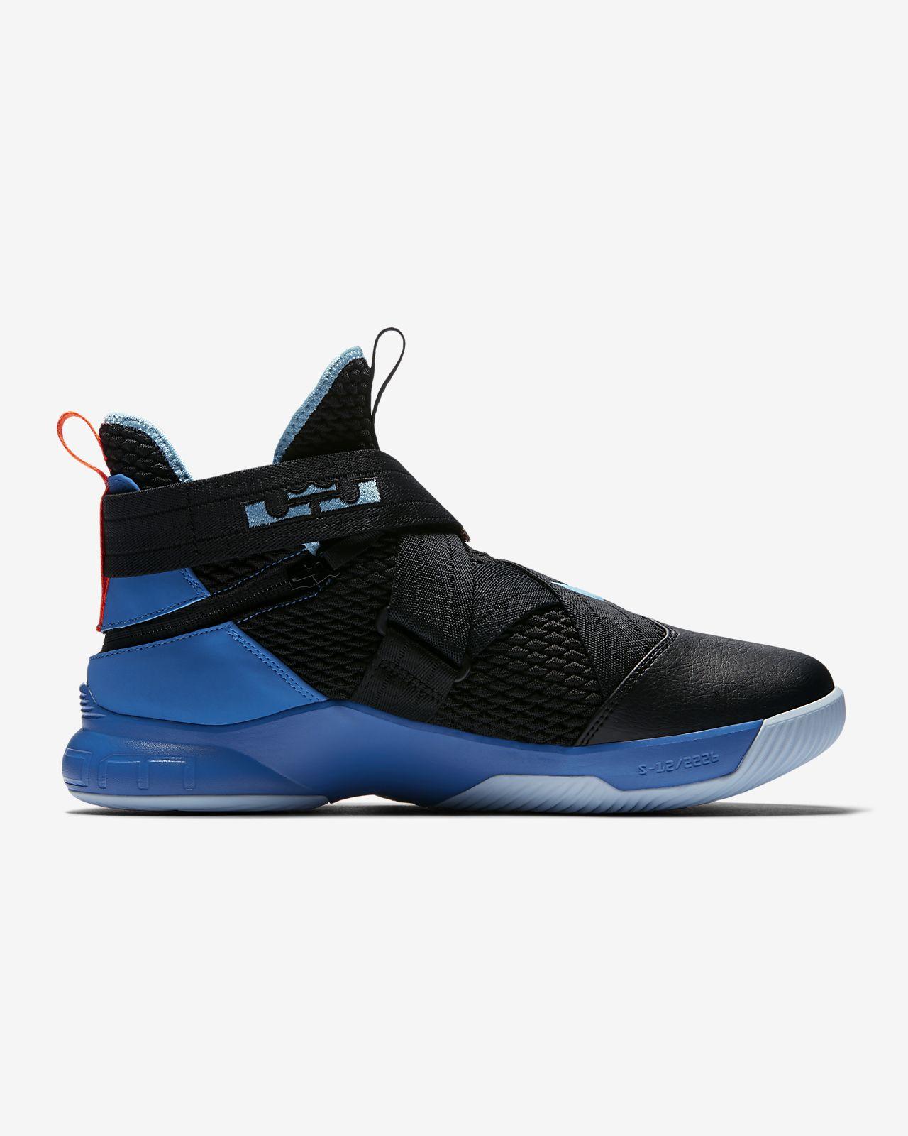 98ca07d4faf LeBron Soldier 12 FlyEase Men s Basketball Shoe. Nike.com