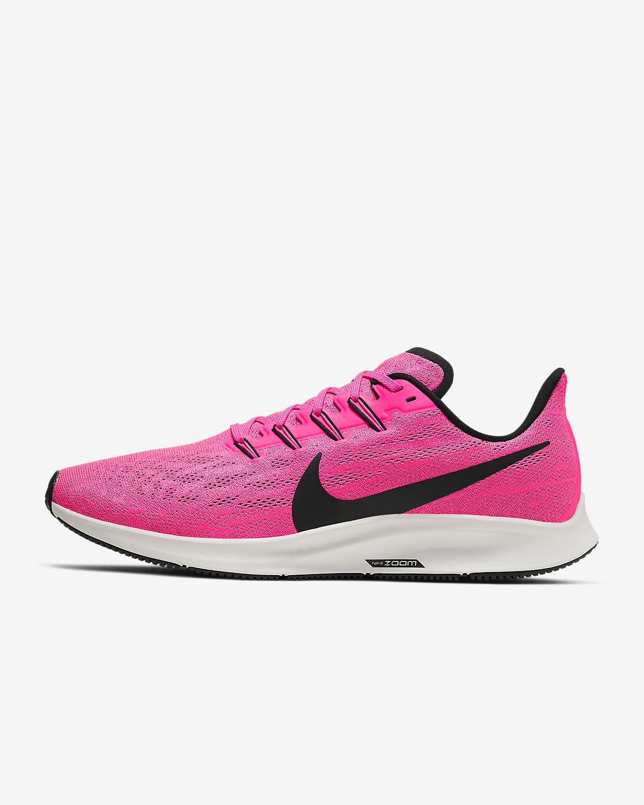 Zapatillas Nike Air Zoom Pegasus 36 Rosa Negro Hombre