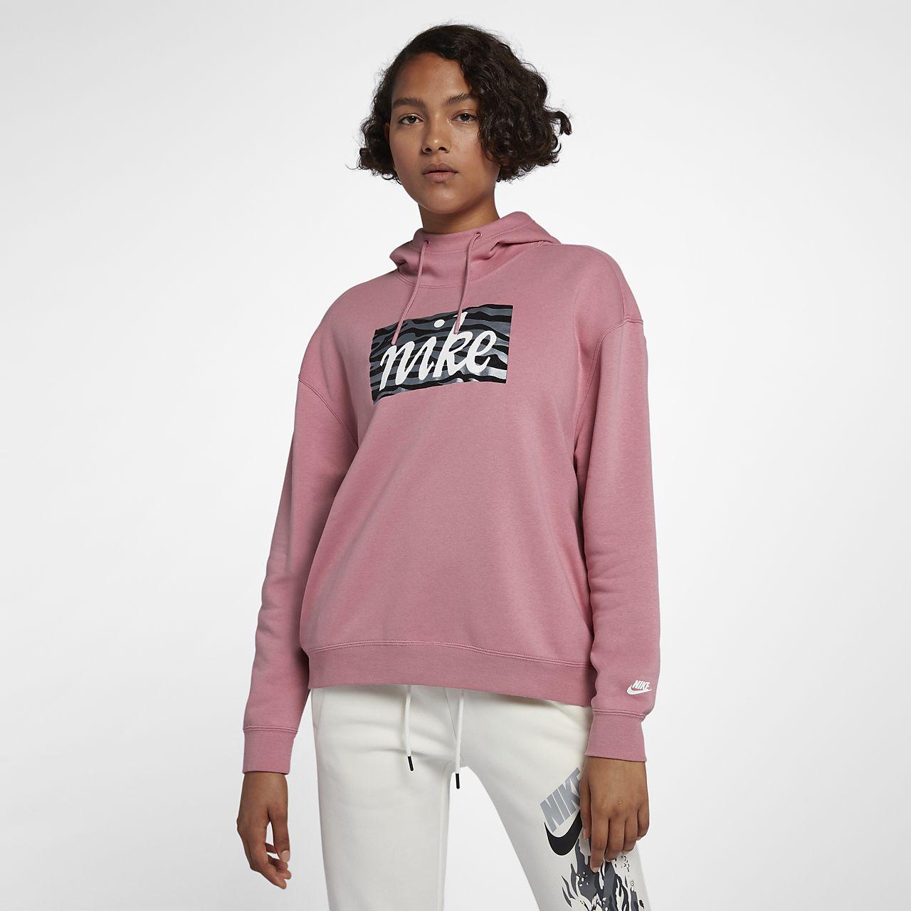 Animal Nike À Imprimé Be Sweat Pour Femme Sportswear Capuche tq4Fwx6wp