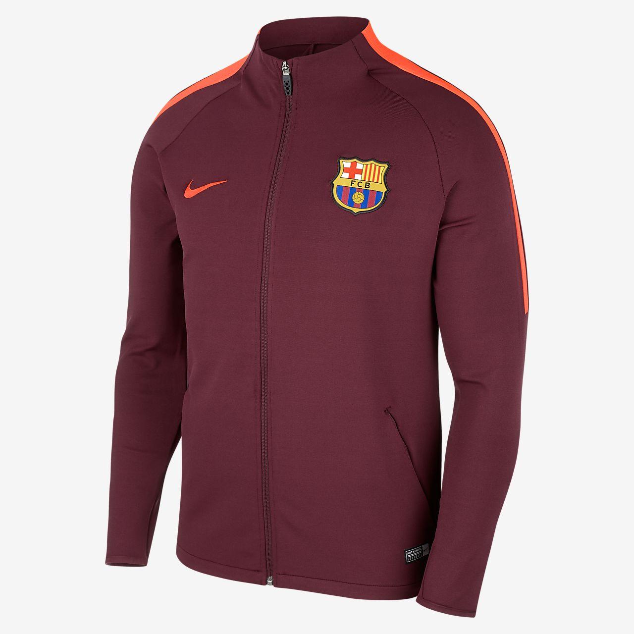 ... FC Barcelona Dri-FIT Strike Men's Football Jacket