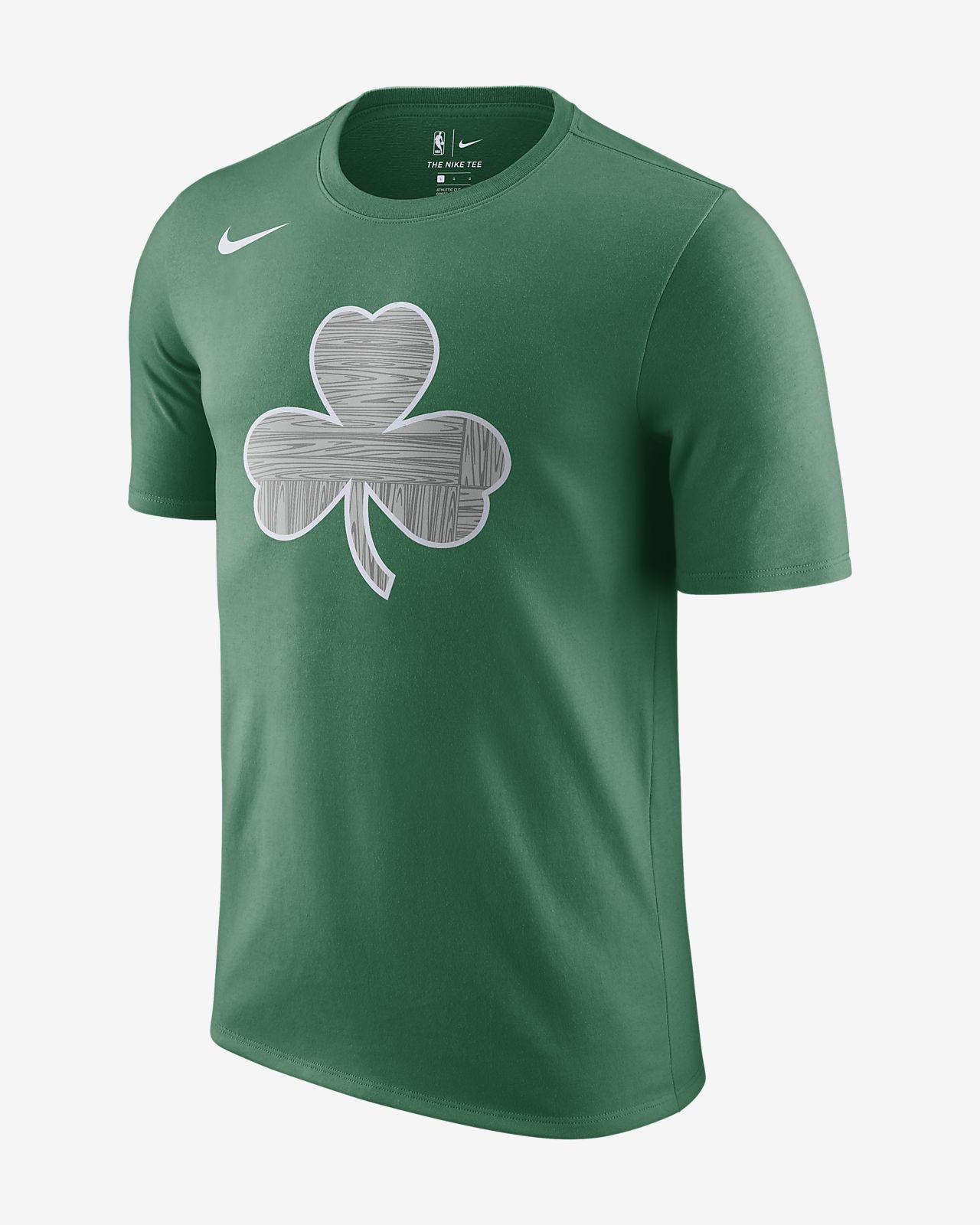 เสื้อยืด NBA ผู้ชาย Boston Celtics City Edition Nike Dry