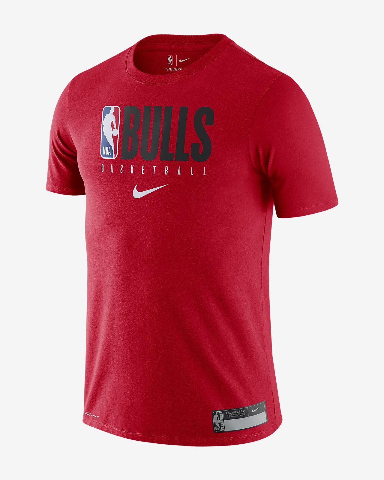 Chicago Bulls Nike NBA-s férfipóló
