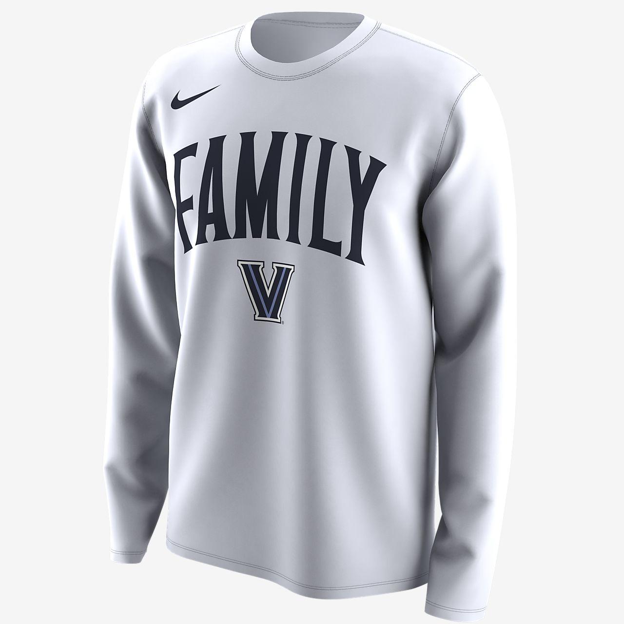 """Nike College Dri-FIT Legend """"Family"""" (Villanova) Men's Long-Sleeve T-Shirt"""