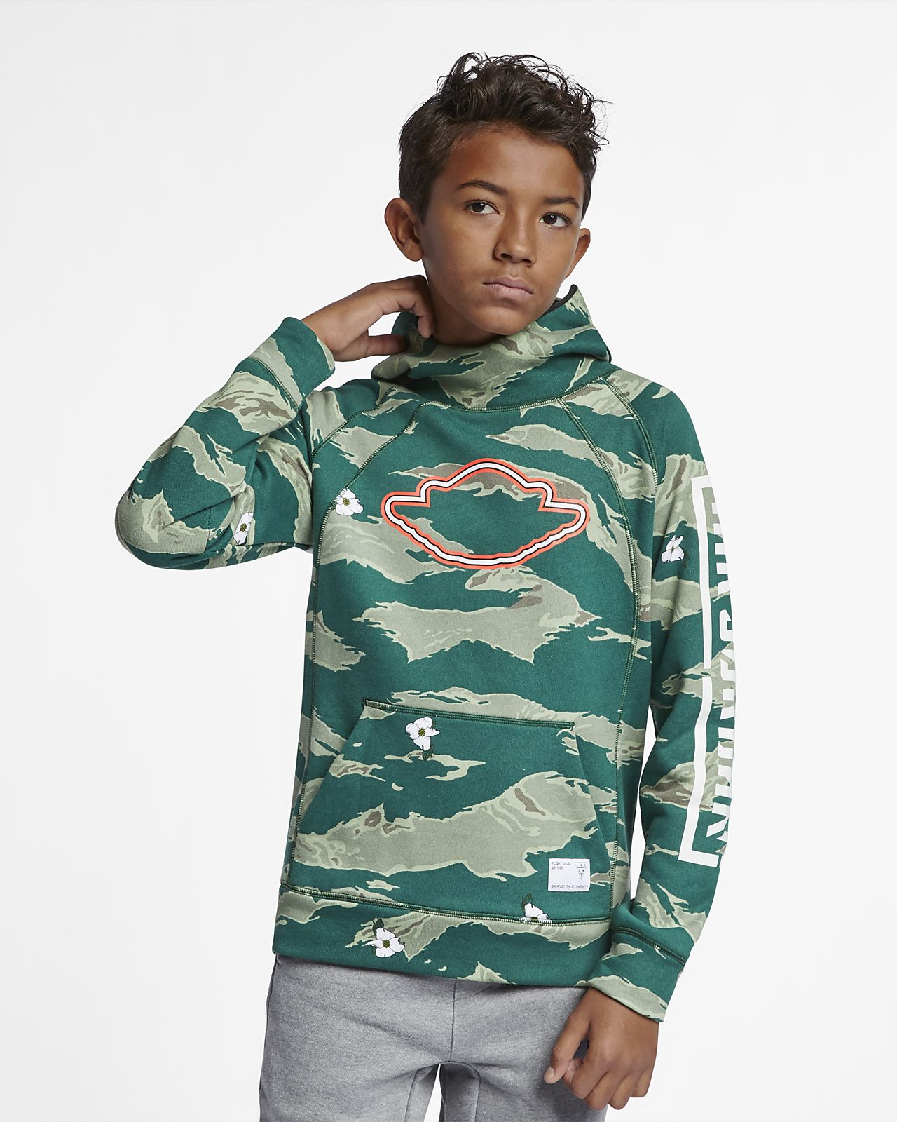 Jordan City of Flight Older Kids' (Boys') Pullover Hoodie