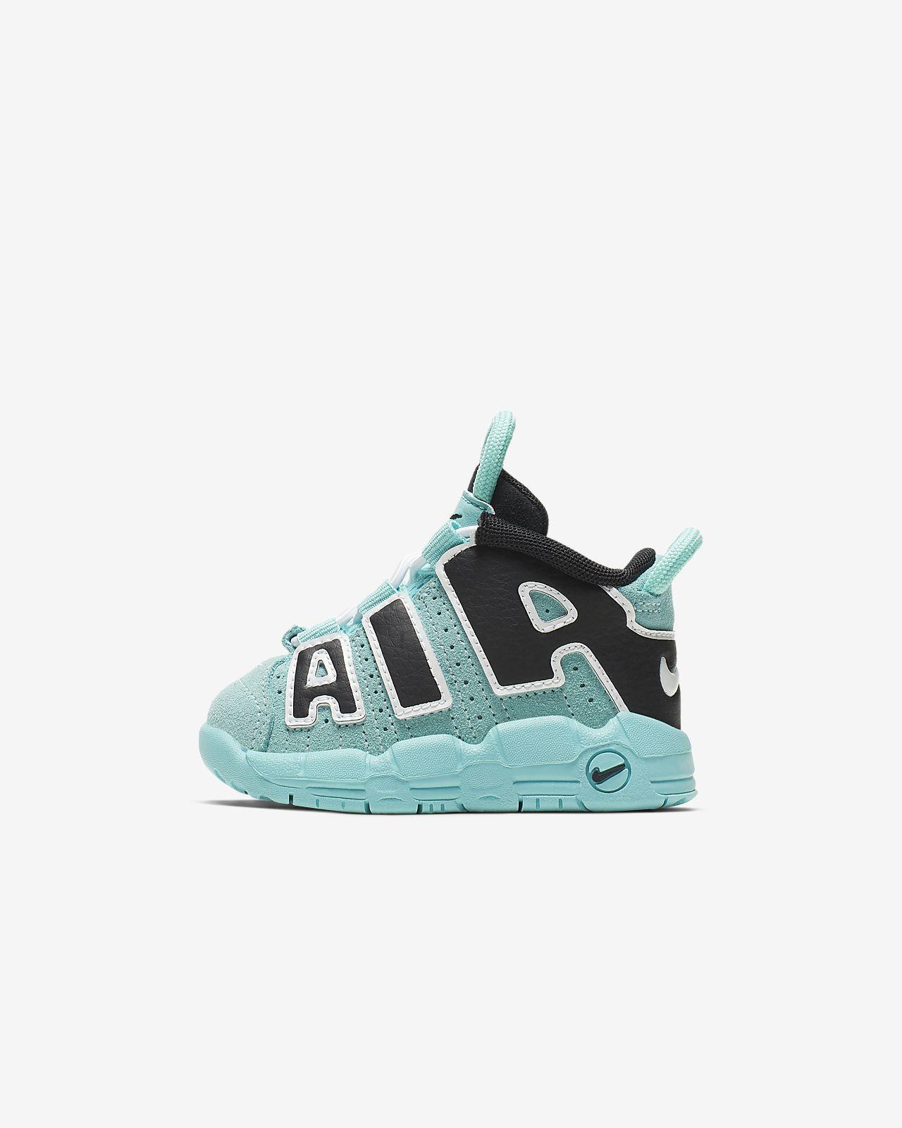 sale online more photos designer fashion Nike Air More Uptempo Baby/Toddler Shoe