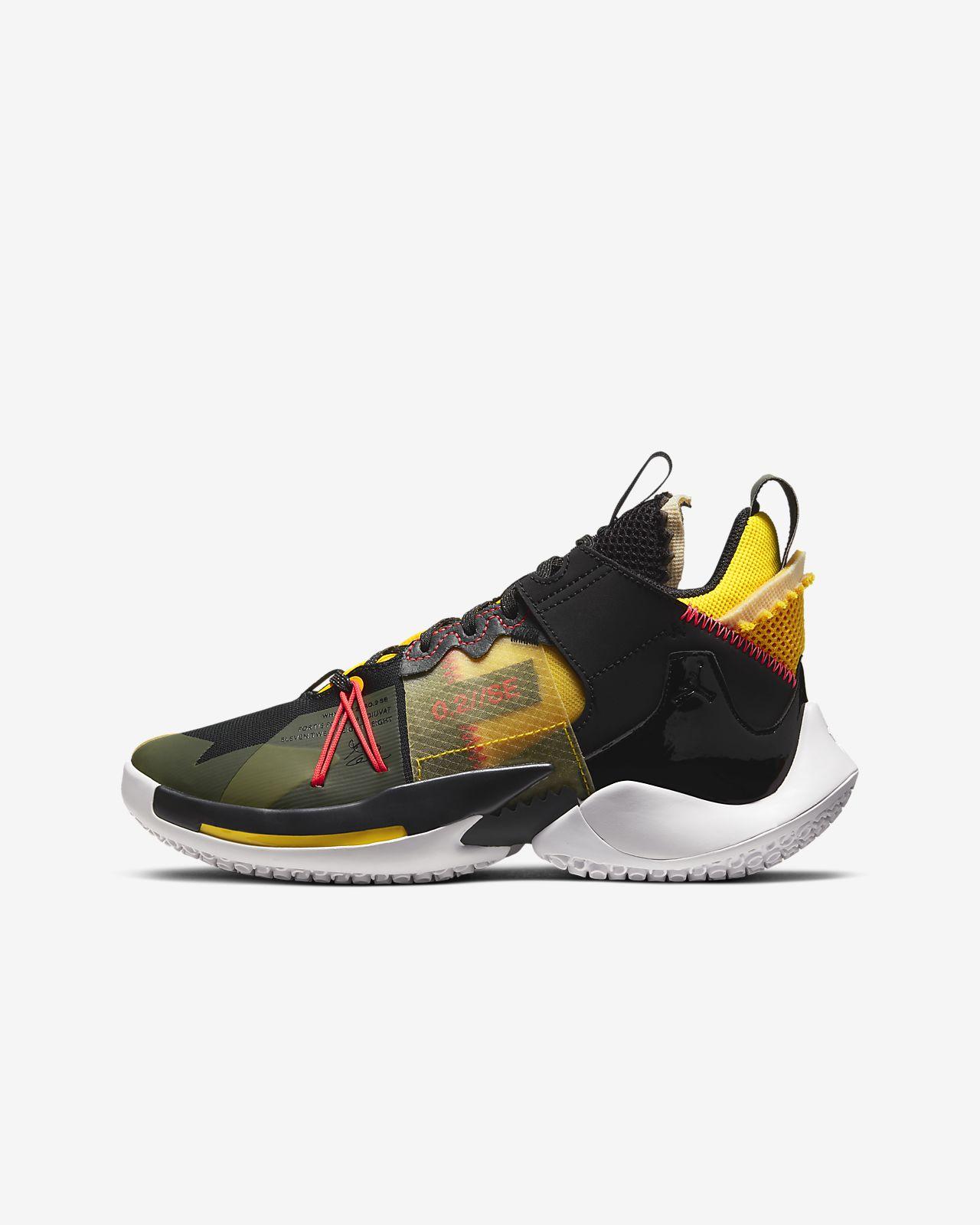 "Jordan ""Why Not?"" Zer0.2 SE Big Kids' Basketball Shoe"