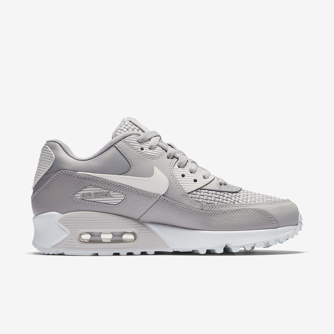 Nike WMNS AIR MAX 90 / NOIR Noir - Chaussures Chaussures-de-running Femme