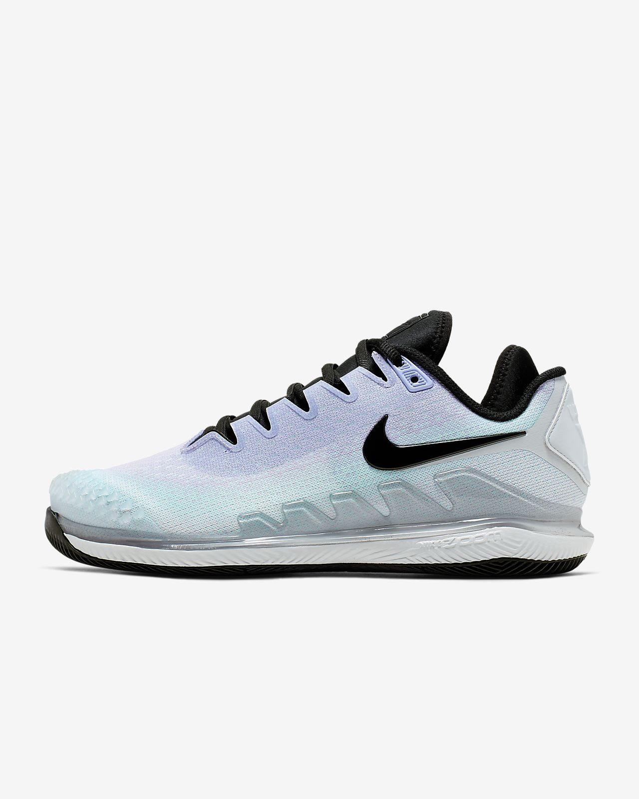 NikeCourt Air Zoom Vapor X Knit Hardcourt tennisschoen voor dames