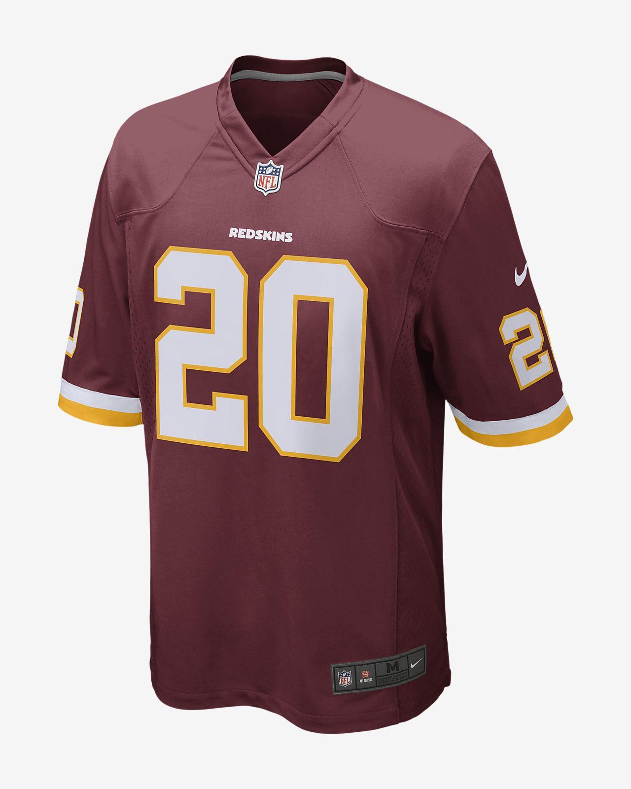 eb626089 NFL Washington Redskins (Landon Collins) Men's Game Football Jersey