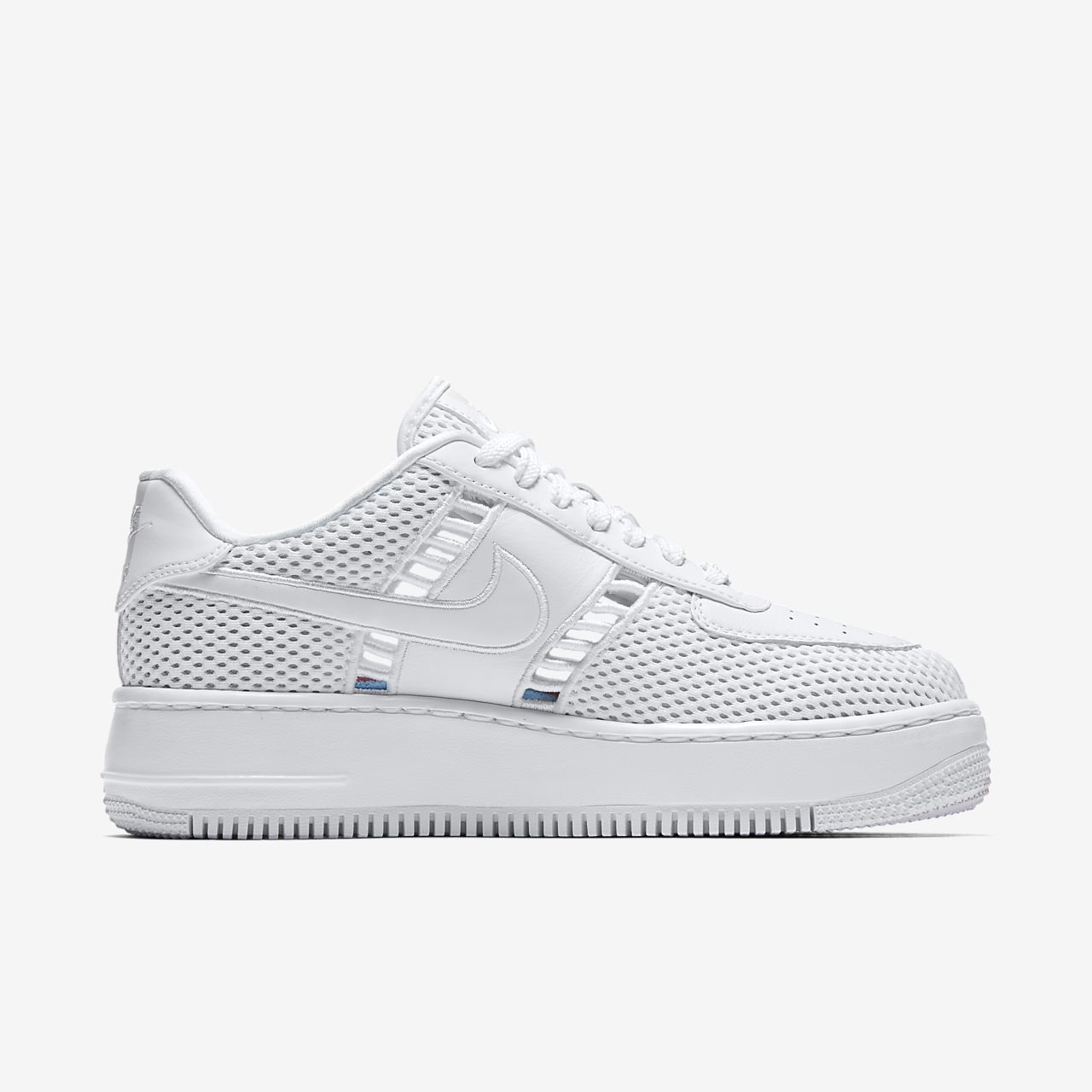 Donna Nike Air Force 1 Upstep Bianco   Sneakers