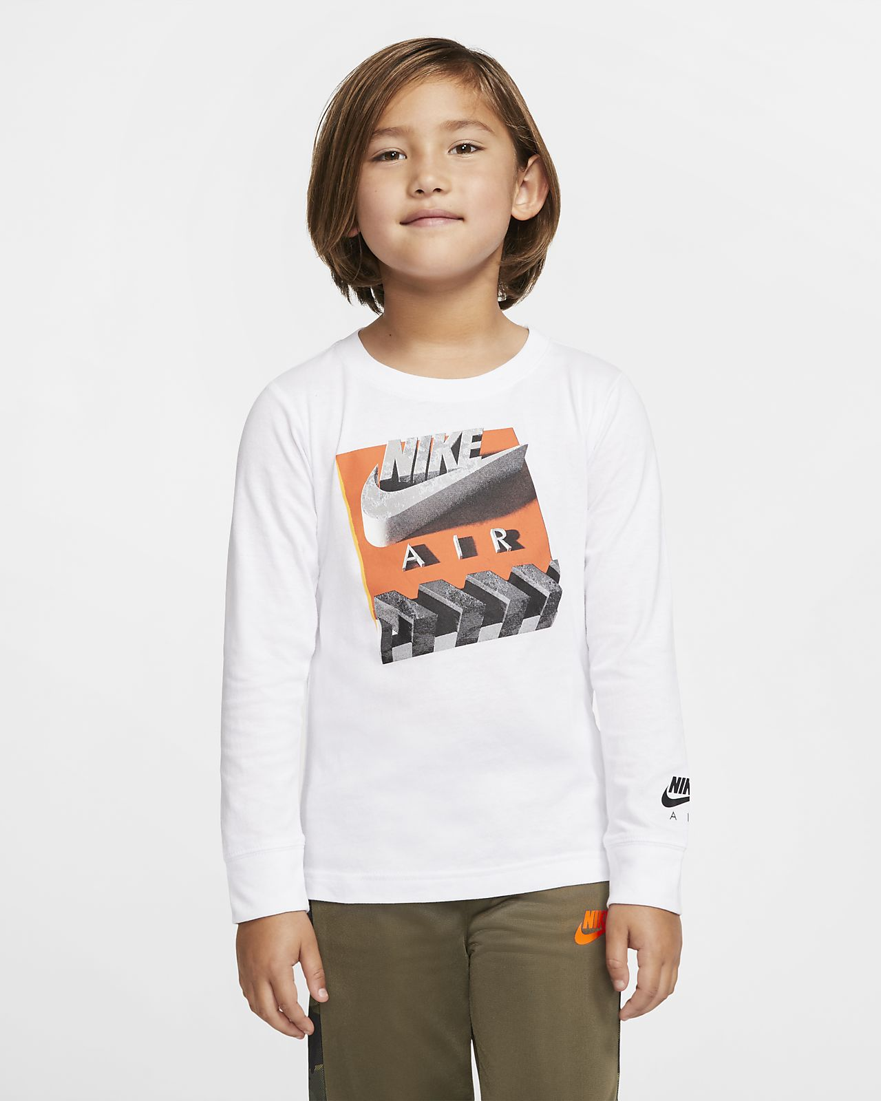 Nike Air Little Kids' Long-Sleeve T-Shirt