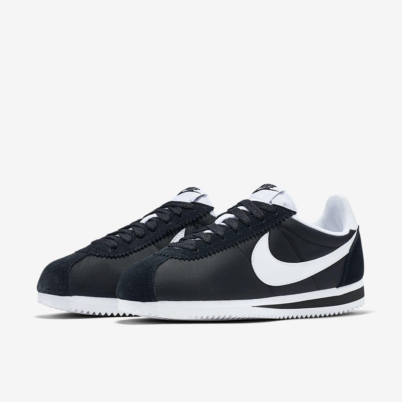 size 40 28a7f b8efb Nike Classic Cortez Nylon Women's Shoe