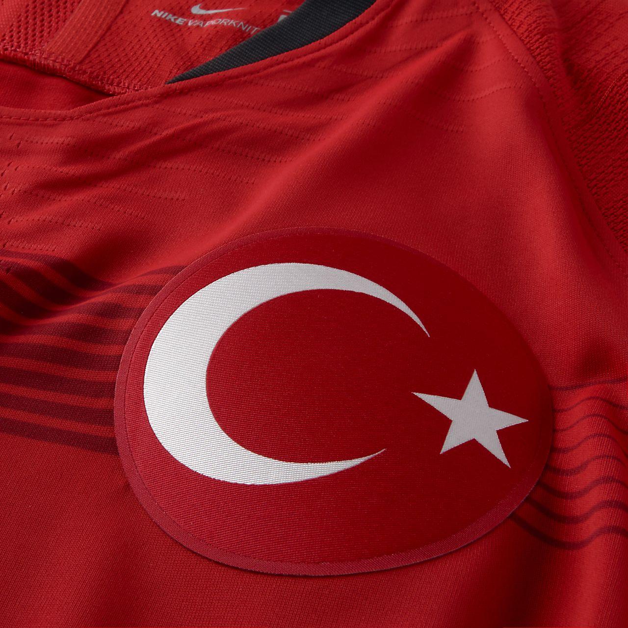 3b93131754 2018 Turkey Vapor Match Home/Away Men's Football Shirt