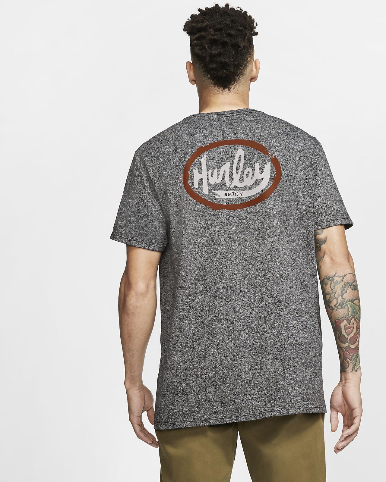 T-shirt Hurley Ovals med premiumpassform för män
