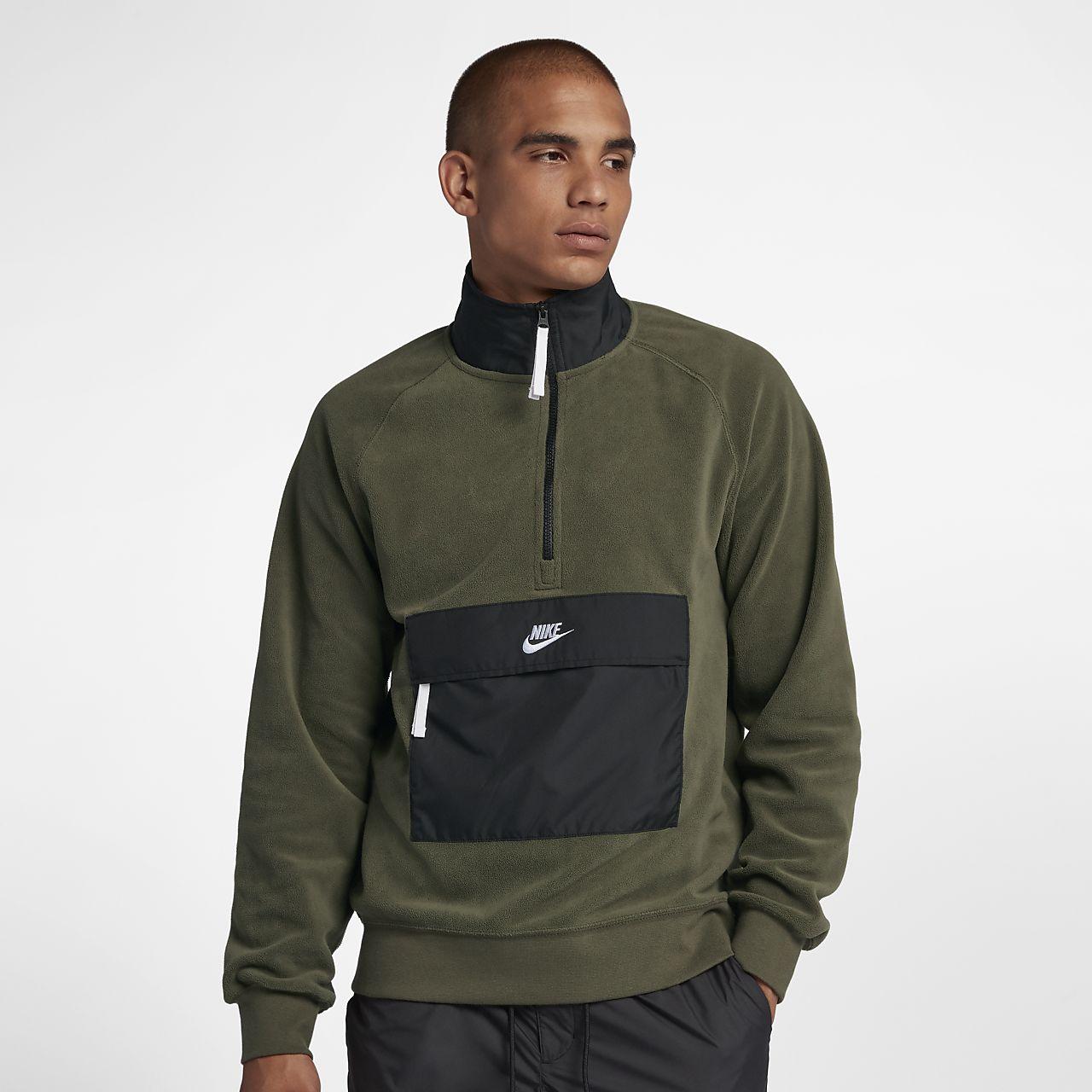 Tröja med halv dragkedja Nike Sportswear för män