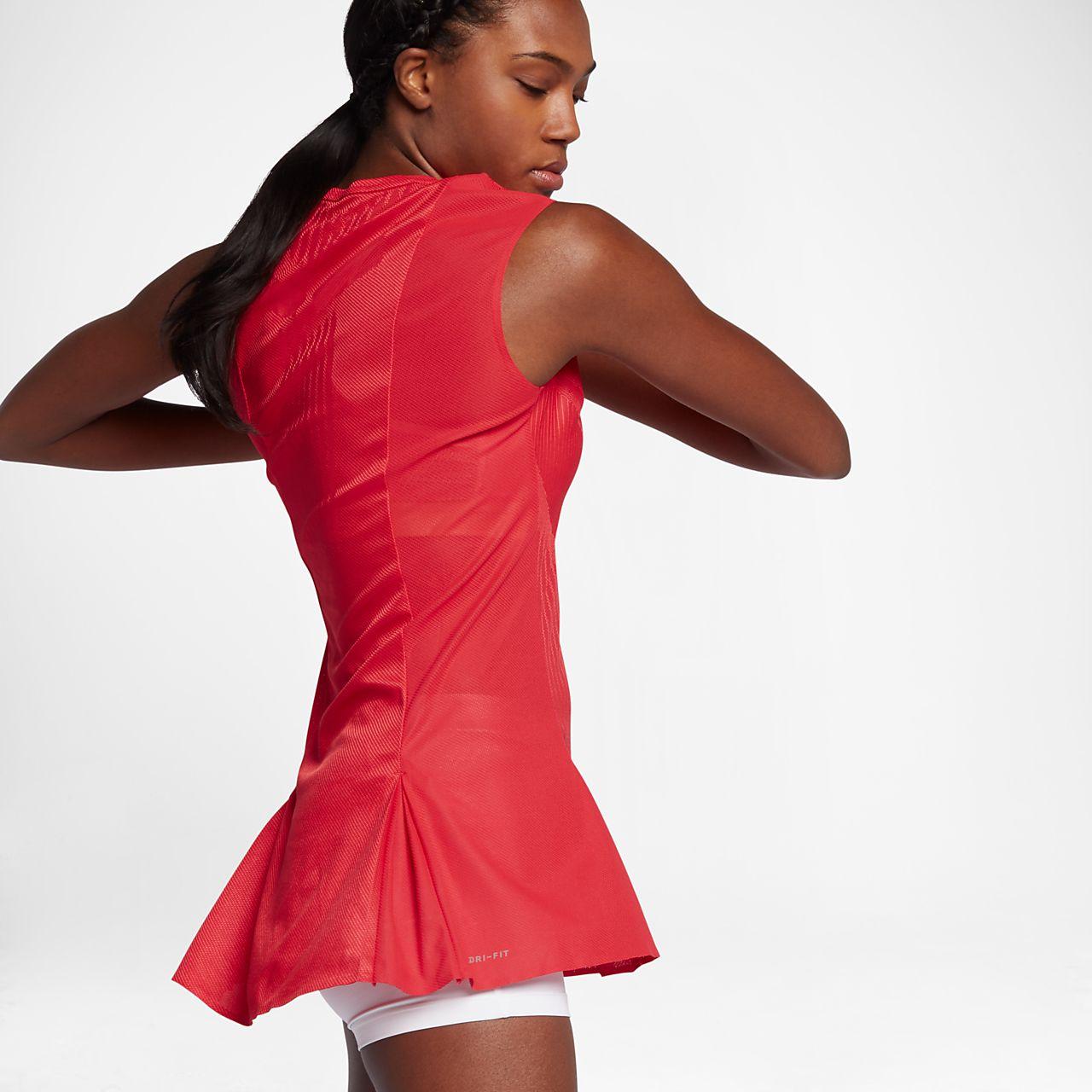 Robe de tennis nikecourt dry slam pour femme be - Robe tennis femme ...