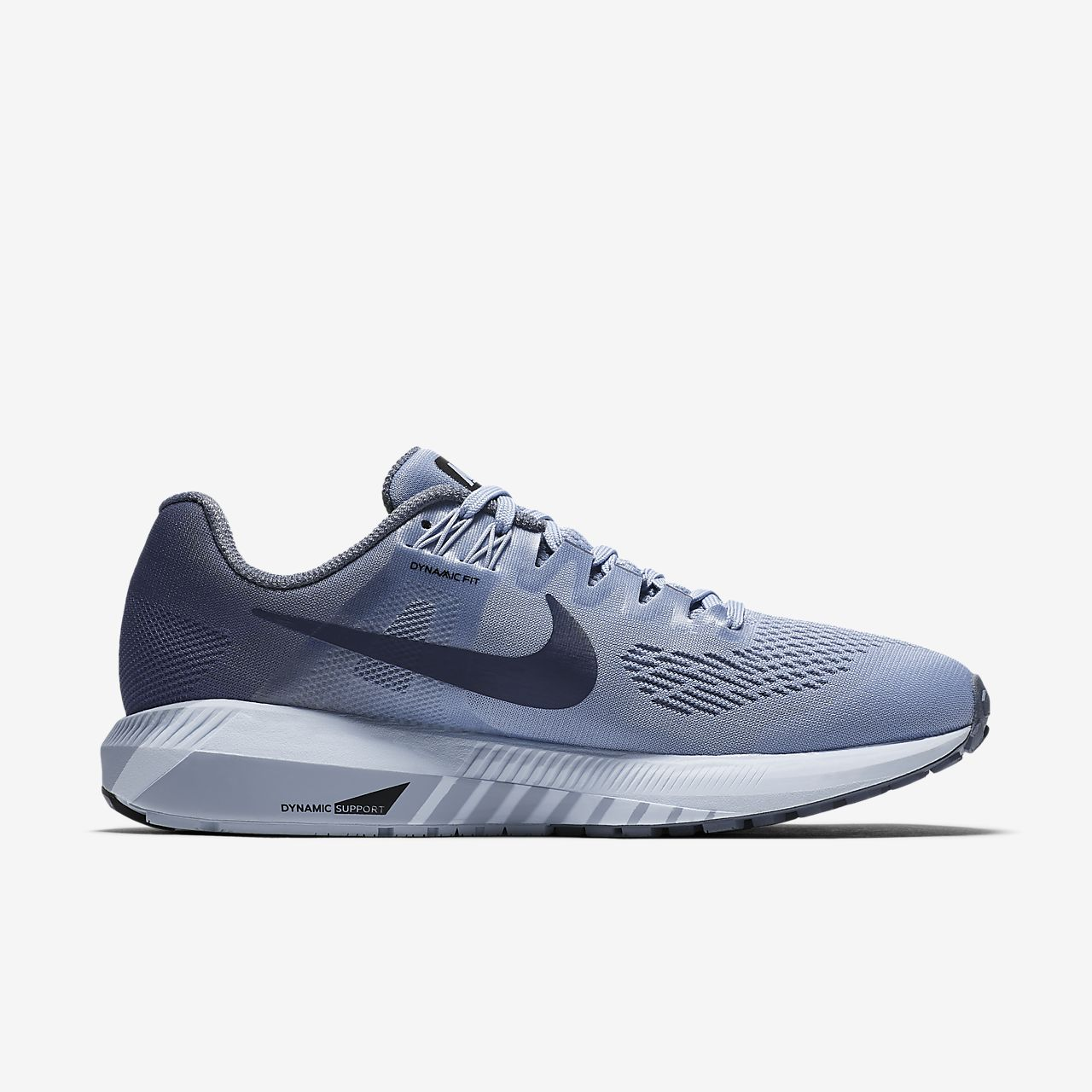Zapatos grises Nike Zoom Structure para mujer ZTAbToe