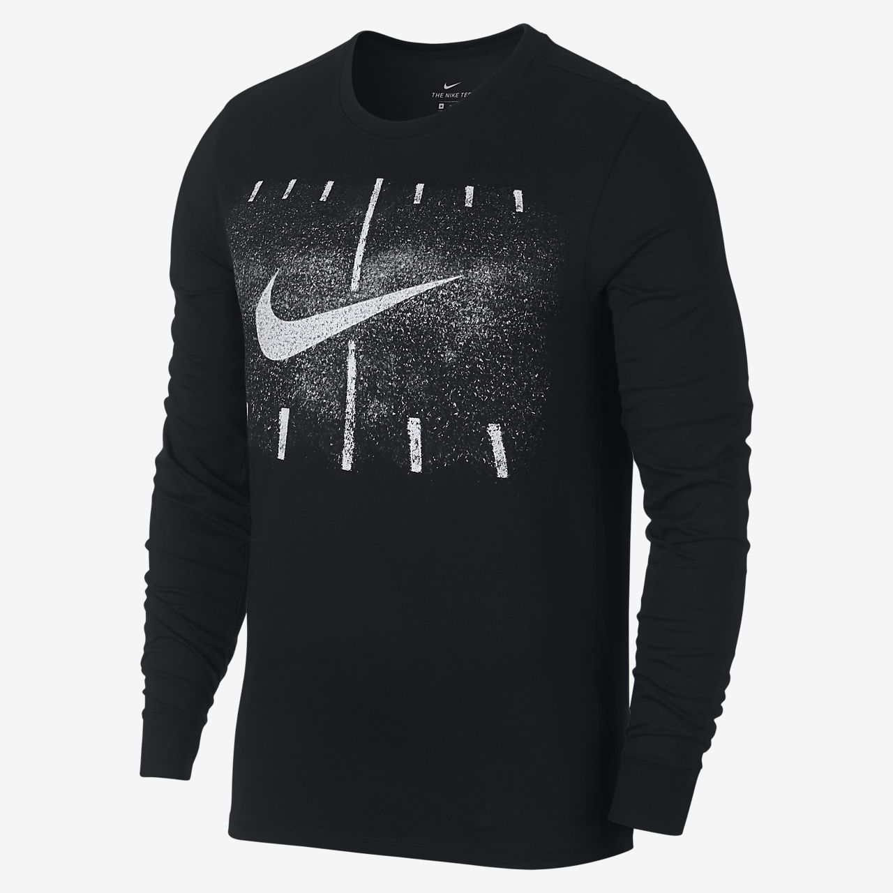 Nike Dri-FIT Men's Long Sleeve Football T-Shirt. Nike.com