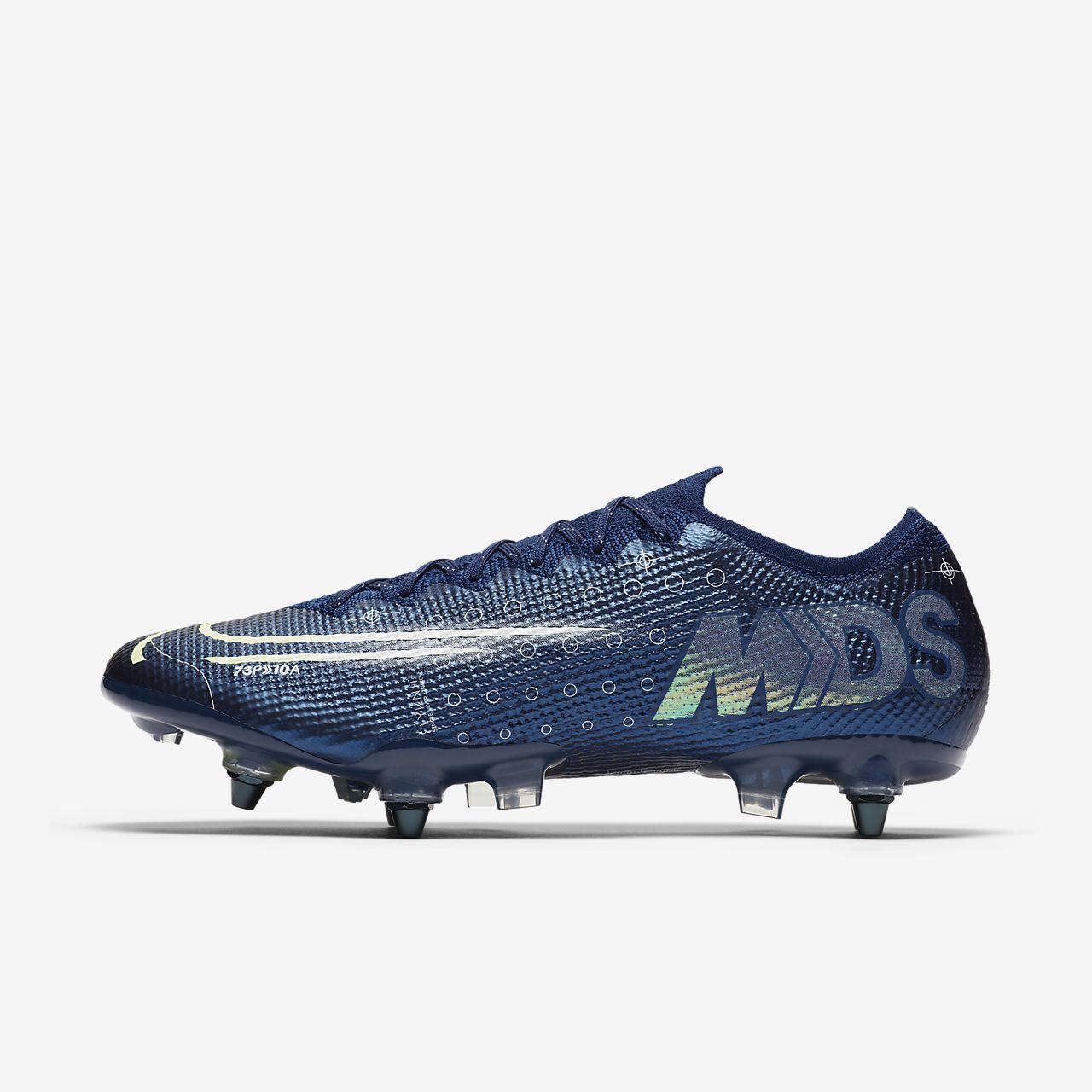 Chaussure de football à crampons pour terrain gras Nike Mercurial Vapor 13 Elite MDS SG-PRO Anti-Clog Traction