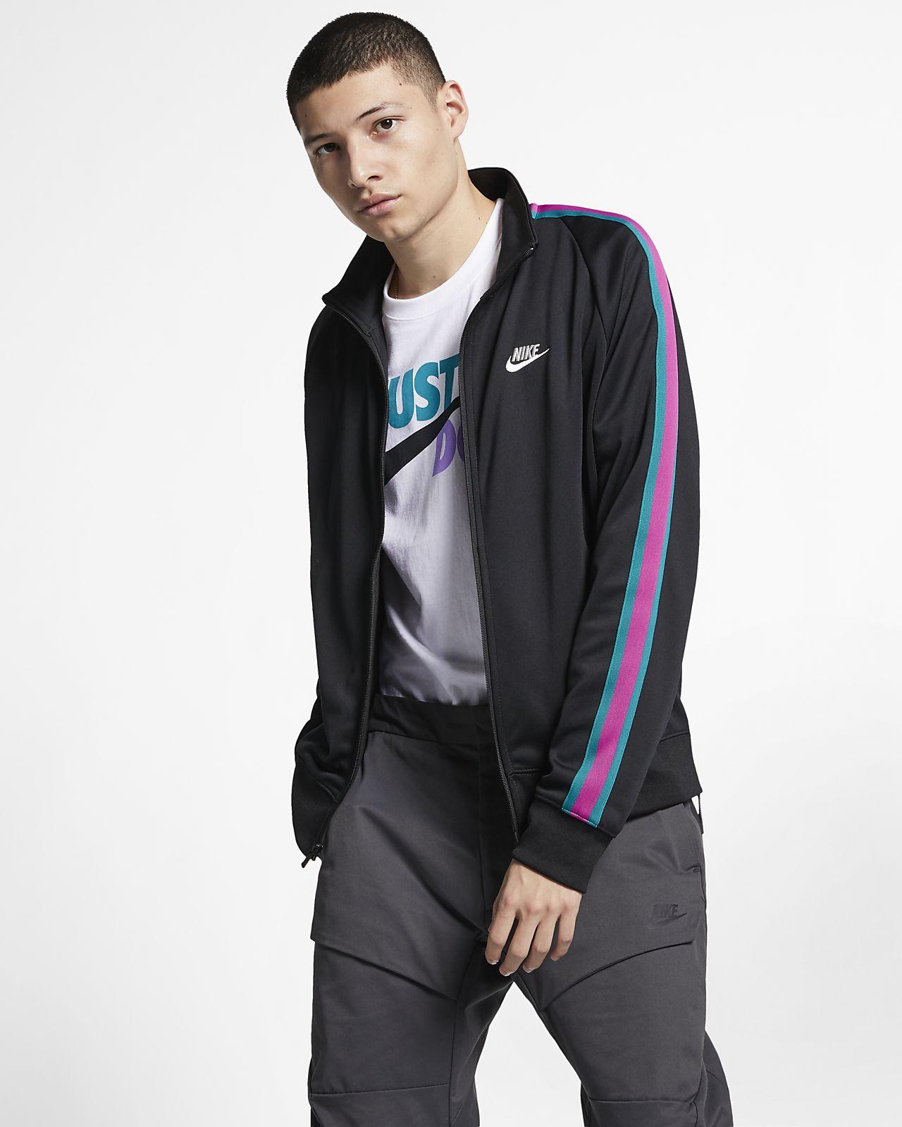 97ec63106 Nike Sportswear N98 Men's Knit Warm-Up Jacket. Nike.com PT