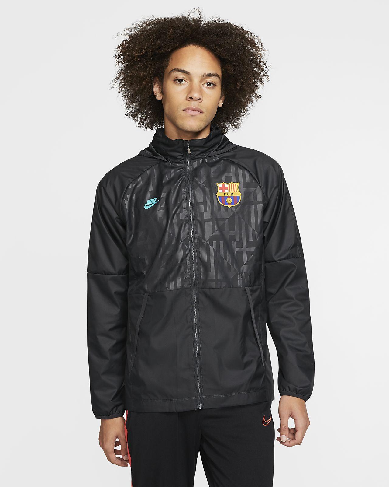 Chamarra de fútbol para hombre FC Barcelona