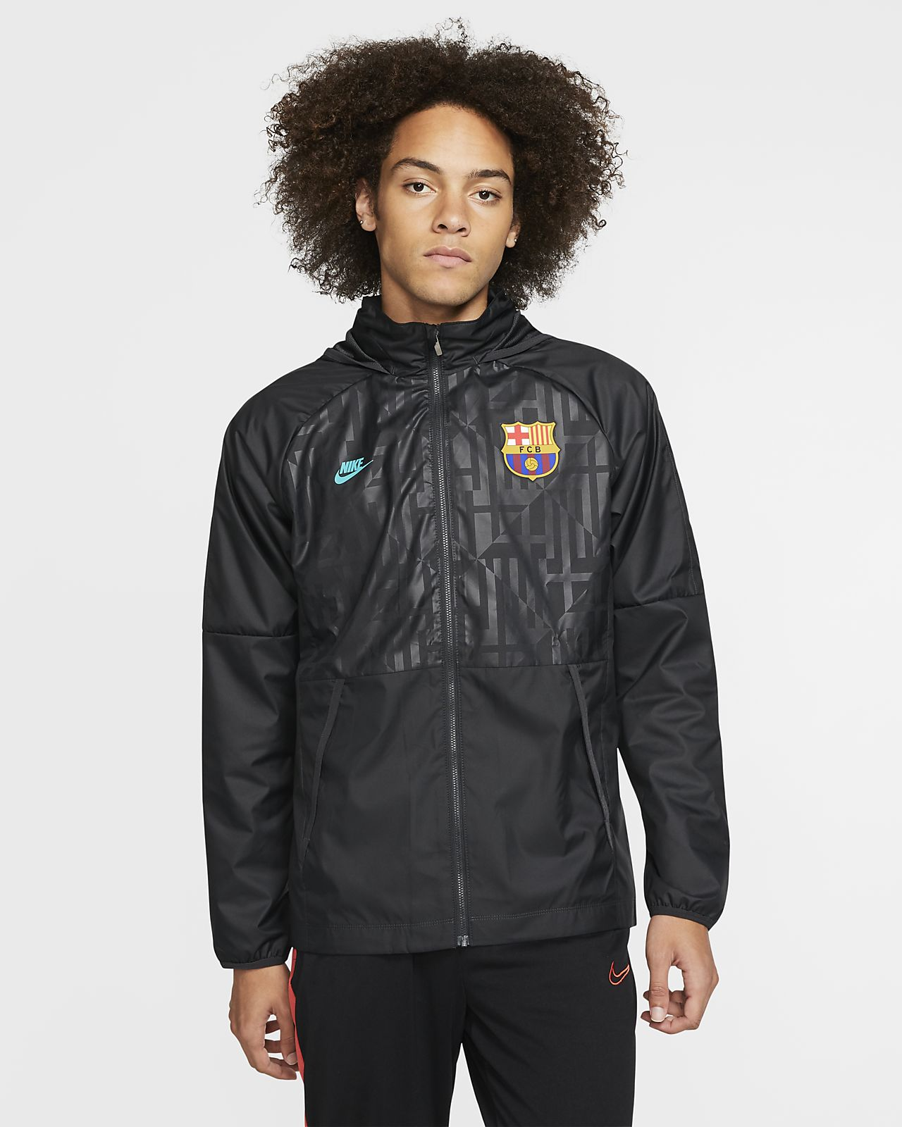 FC Barcelona Men's Football Jacket