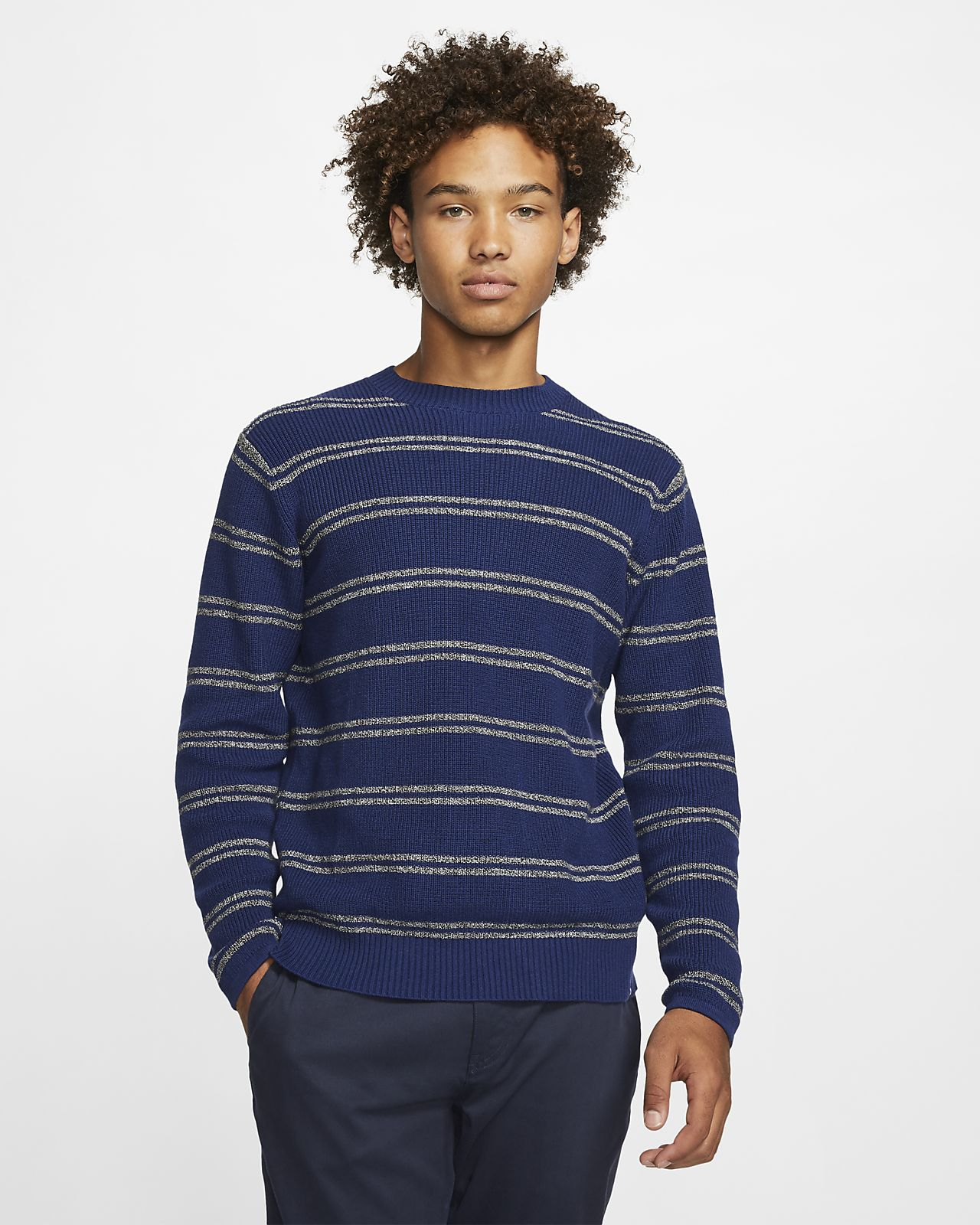 Hurley Rogers Stripe Men's Sweater