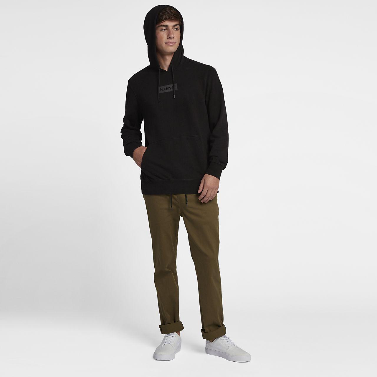 Good Hurley Nike Team Pro Series Adrian Ace Buchan Rainbow Serpent Black Hoodie Med M Activewear