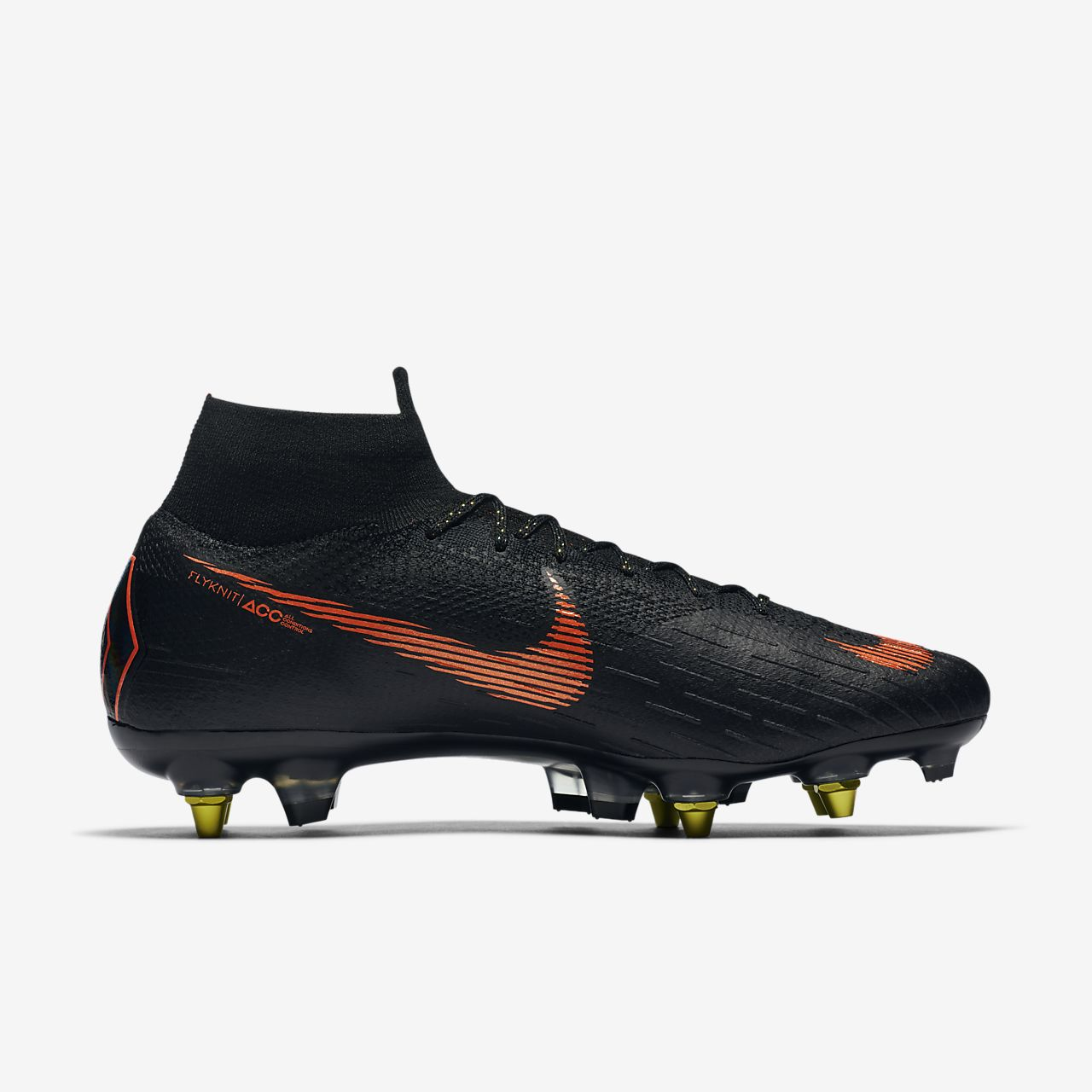 promo code 76d21 9663a Nike Mercurial Superfly VI Academy MG, Chaussures de Football Homme, Noir  (Black