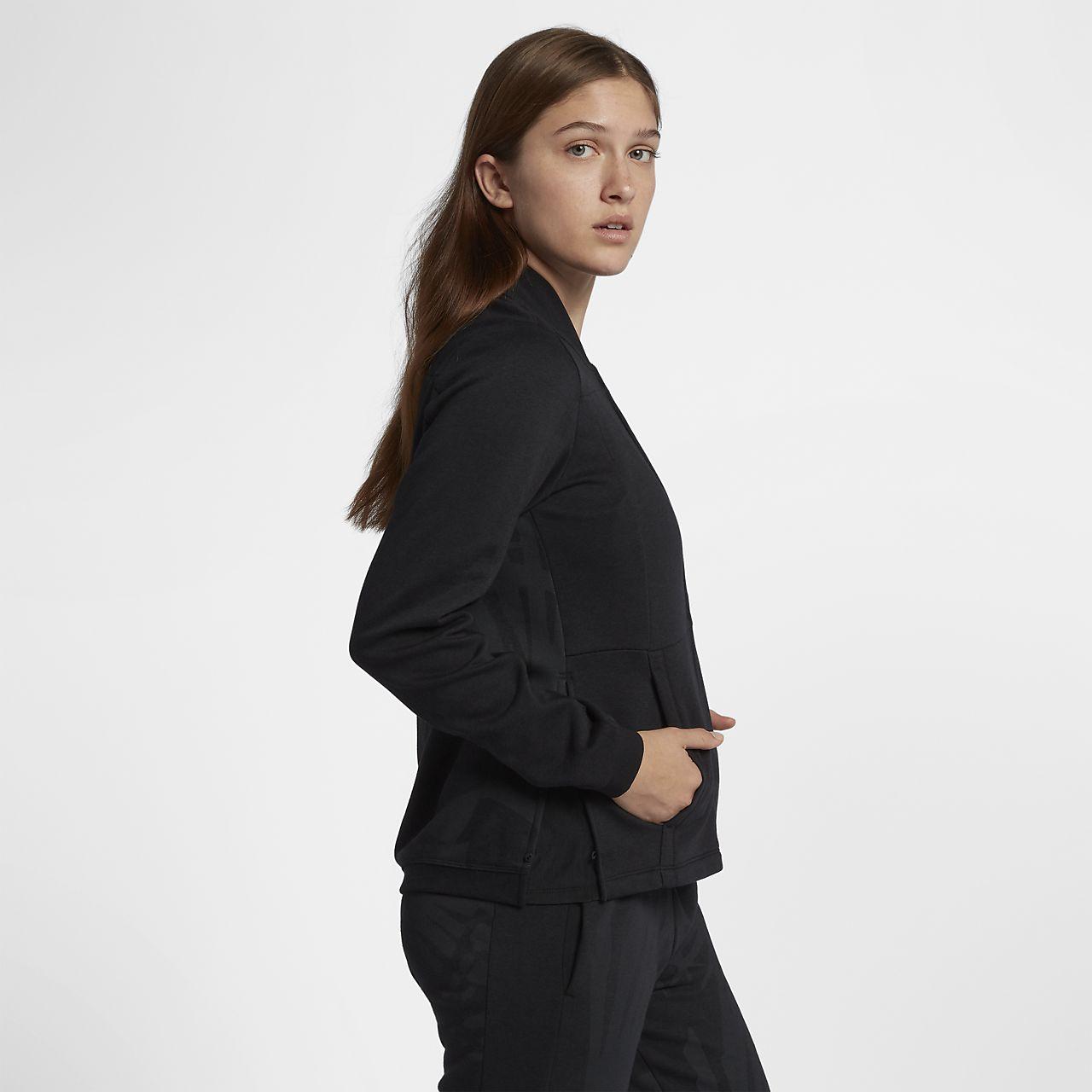 ... Hurley Palmer Bomber Women's Fleece Jacket