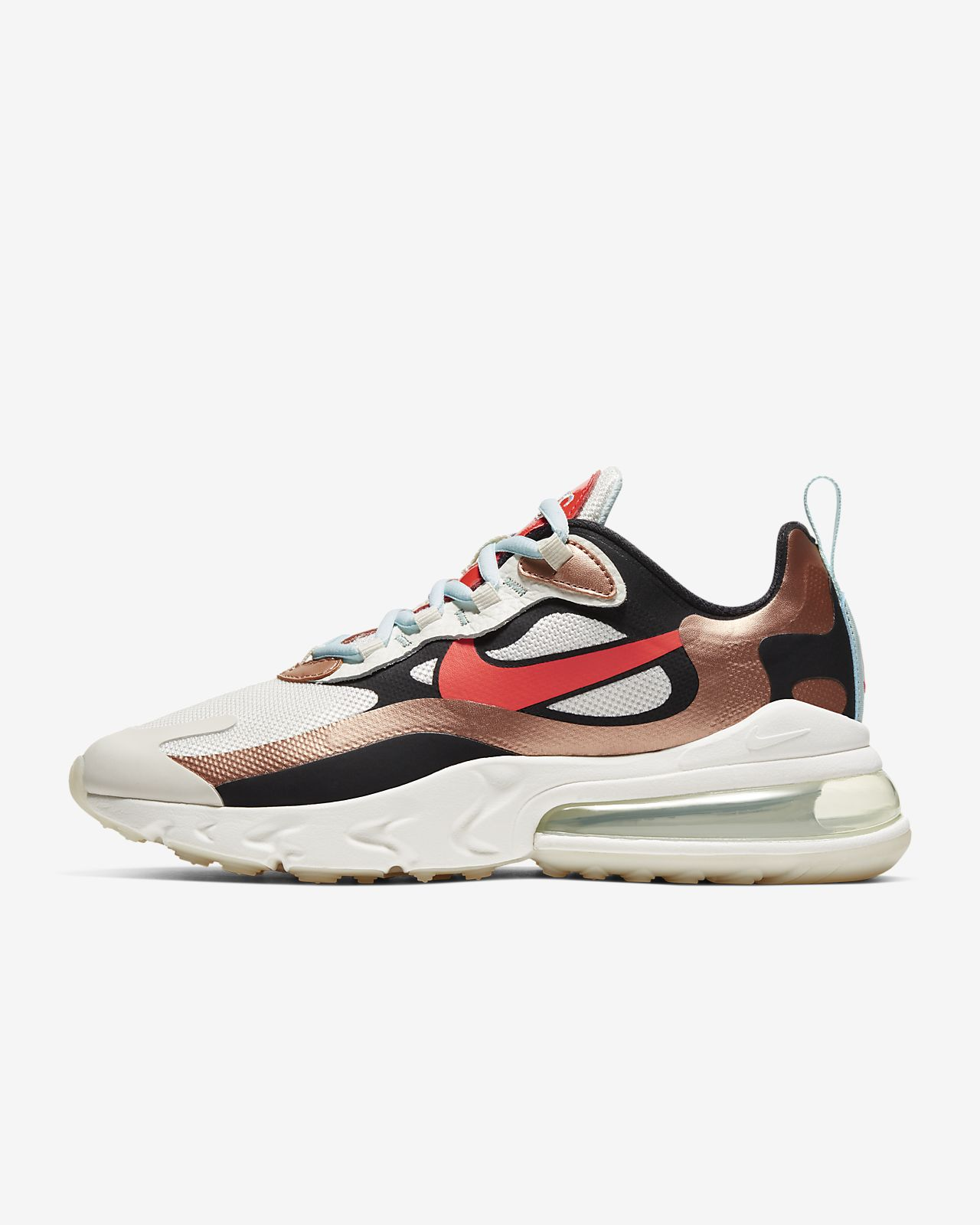 Girls' Nike React Air Max 270 Low Top. Nike.com United States