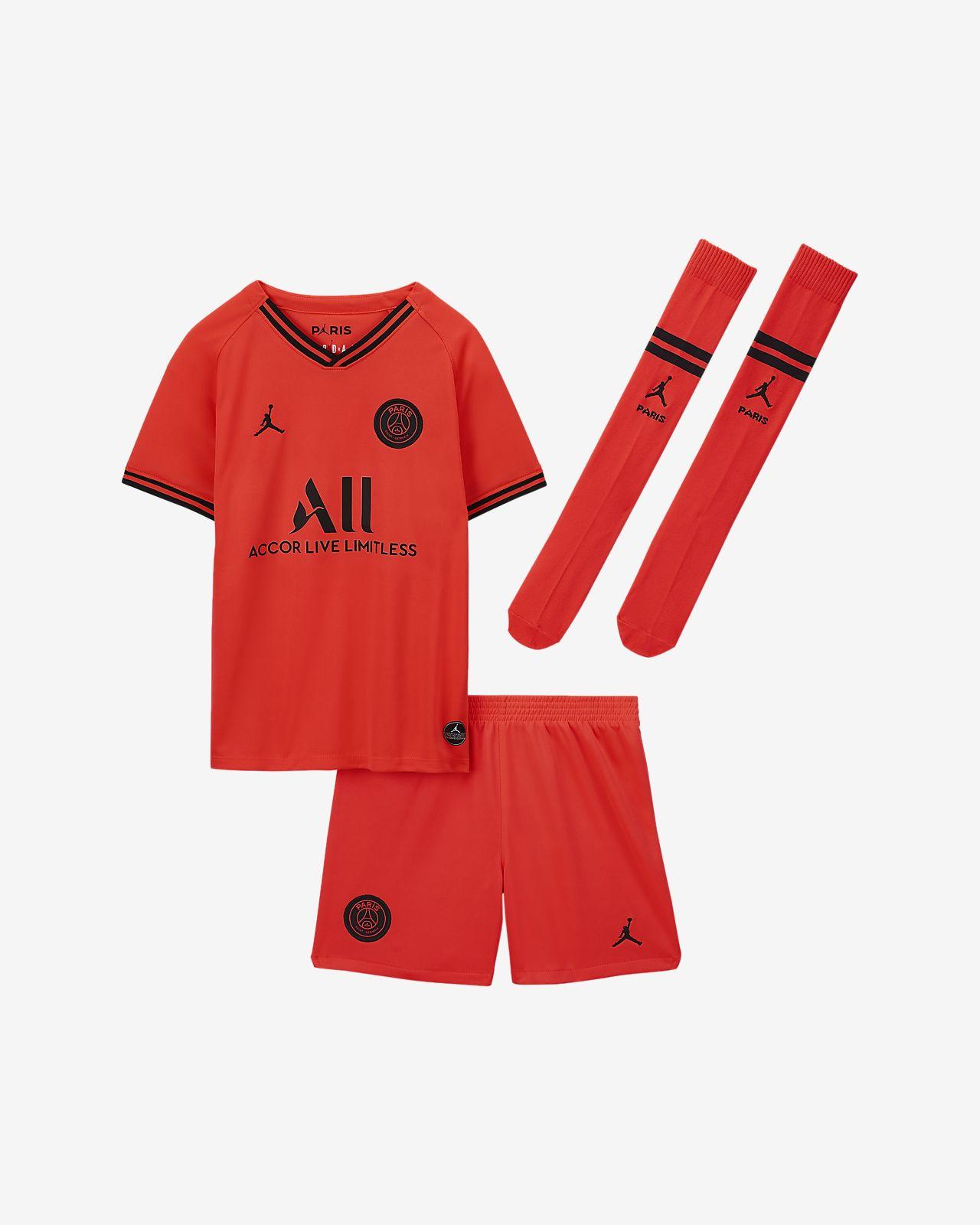Paris Saint-Germain 2019/20 Away draktsett til små barn