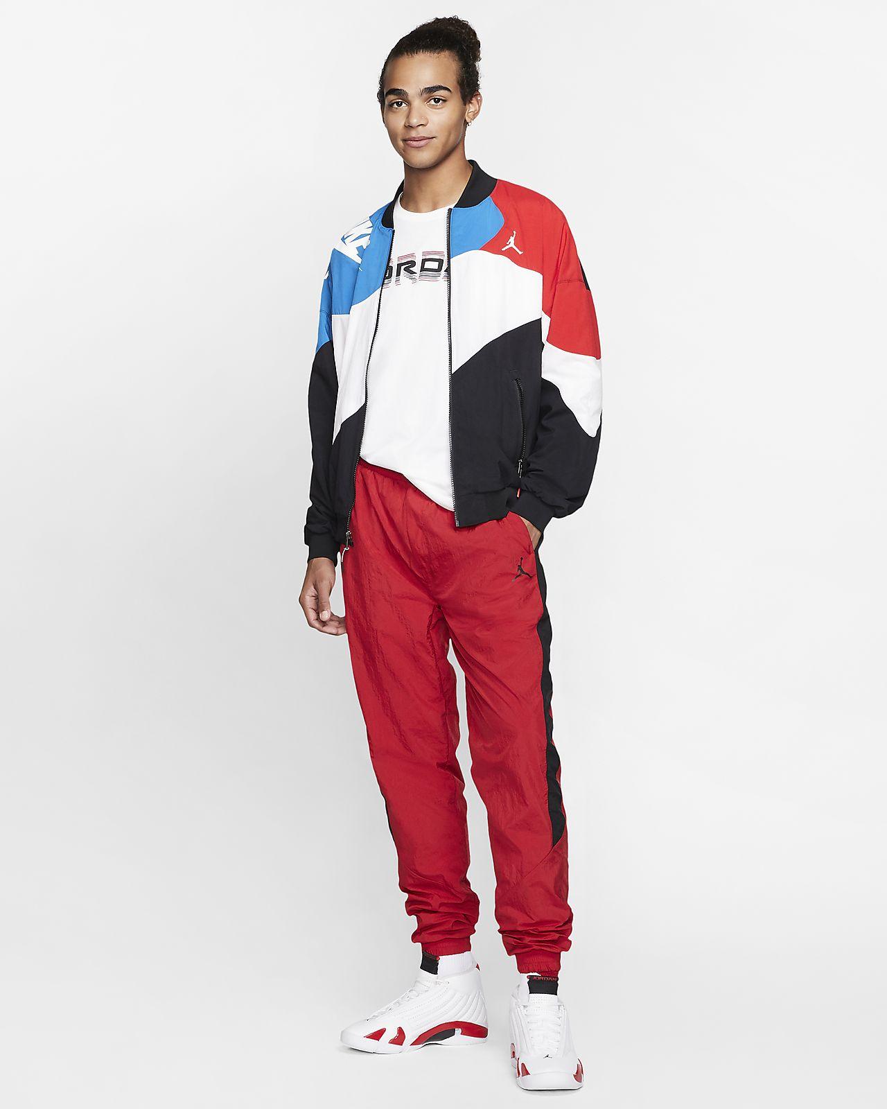 เสื้อแจ็คเก็ตน้ำหนักเบา Jordan Legacy AJ4