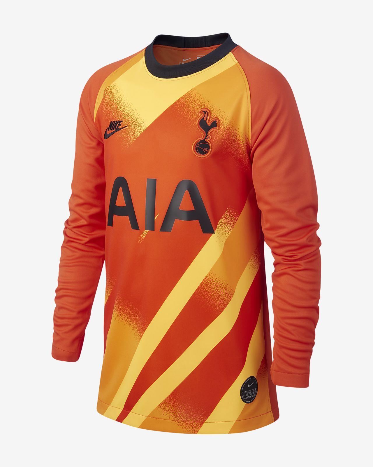 Camisola de futebol Tottenham Hotspur 2019/20 Stadium Goalkeeper Júnior