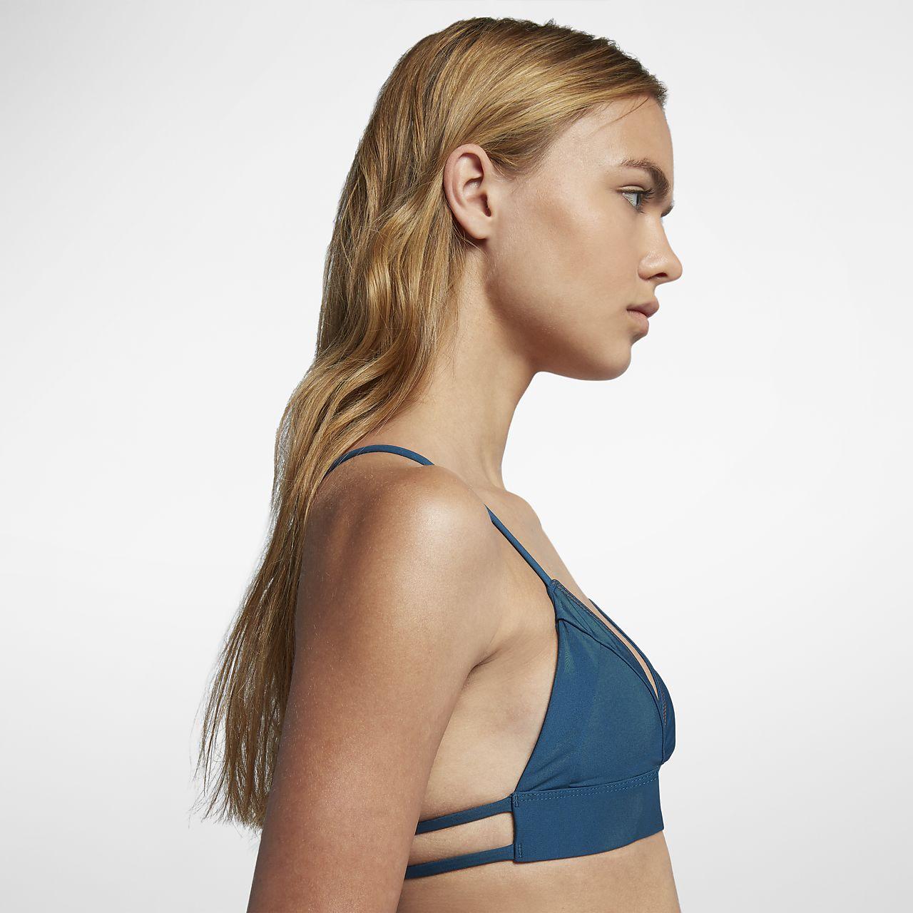 e8edda670a Hurley Quick Dry Bralette Women s Surf Top. Nike.com