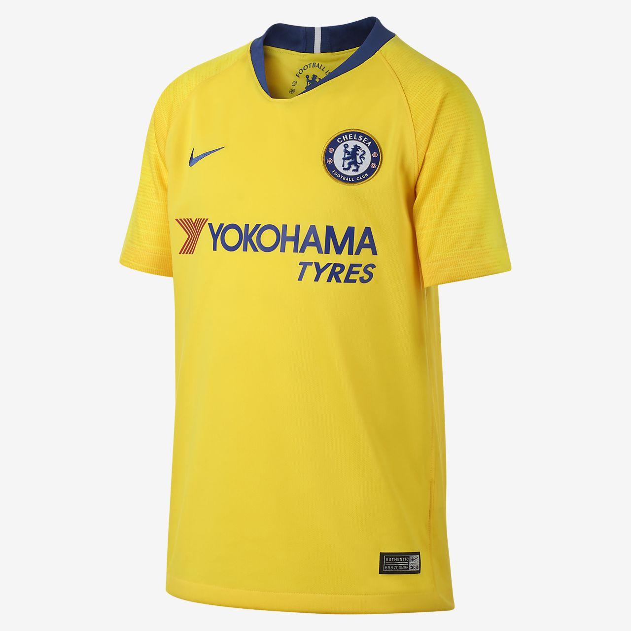 2018 19 Chelsea FC Stadium Away Big Kids  Soccer Jersey. Nike.com a30d82ac3