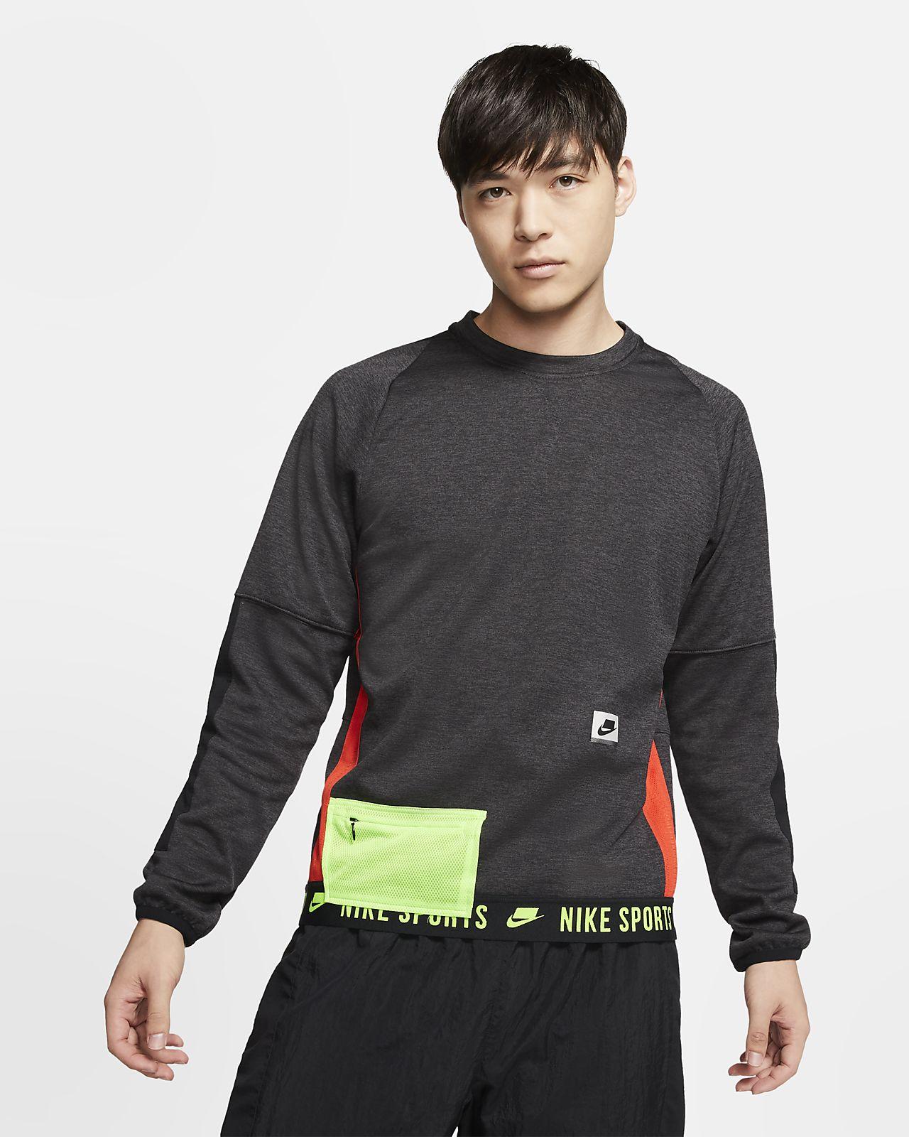 Ανδρική μακρυμάνικη μπλούζα προπόνησης Nike Therma