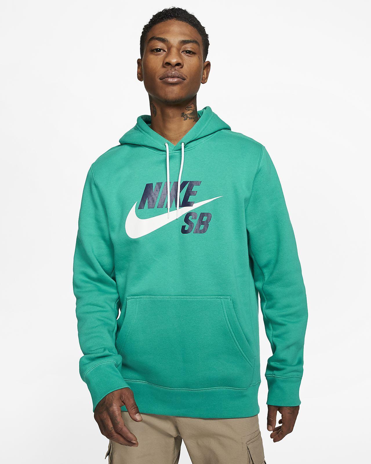 Nike SB Icon-pullover-skaterhættetrøje
