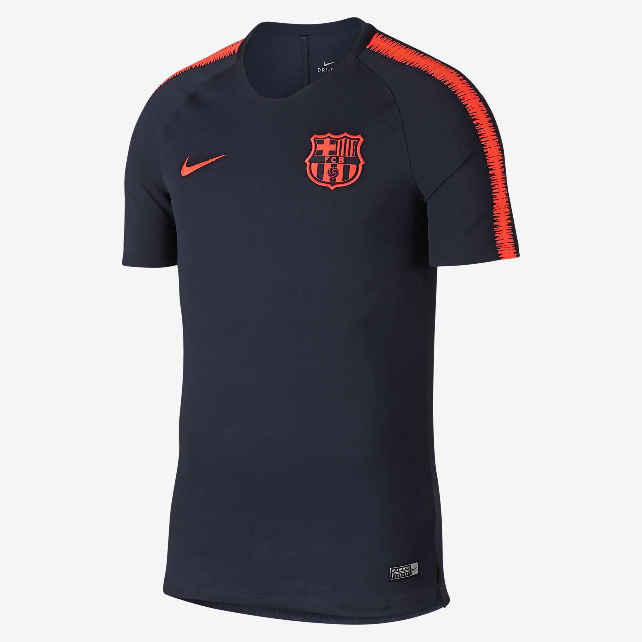 เสื้อฟุตบอลผู้ชาย FC Barcelona Breathe Squad