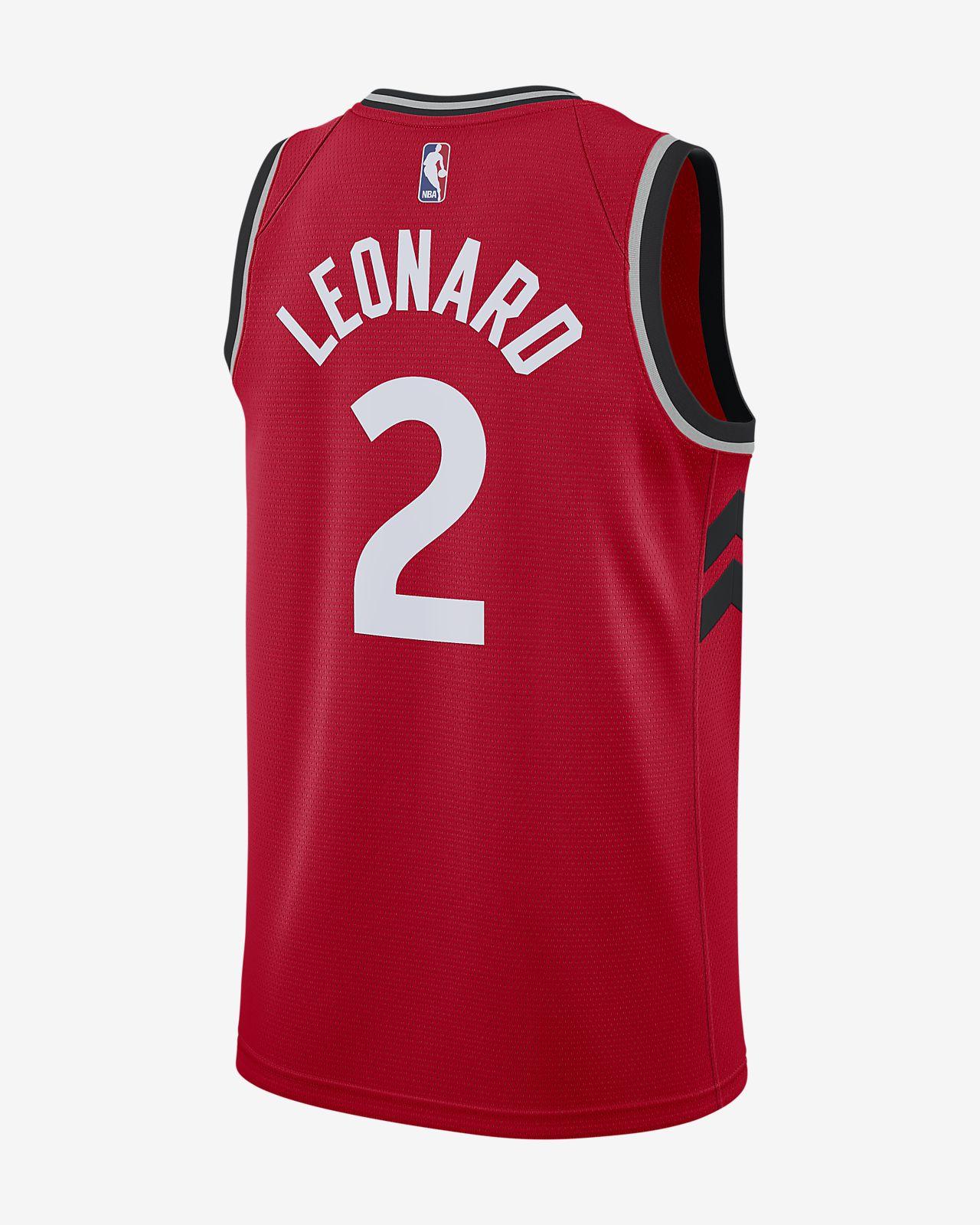8fe312f360c ... 多伦多猛龙队(Kawhi Leonard) Icon Edition Swingman Nike NBA Connected Jersey 男子