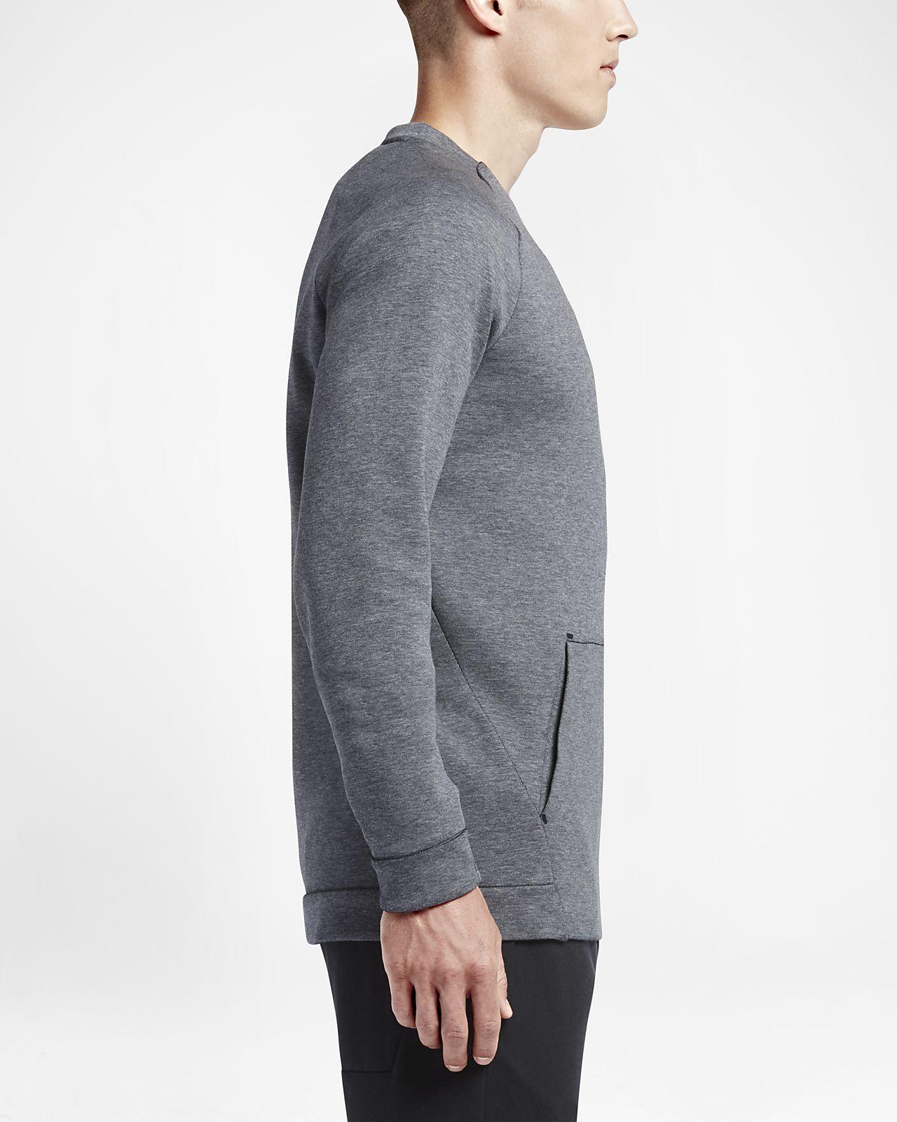 Turnschuhe neuer & gebrauchter designer exzellente Qualität Nike Sportswear Tech Fleece Crew Herren-Sweatshirt