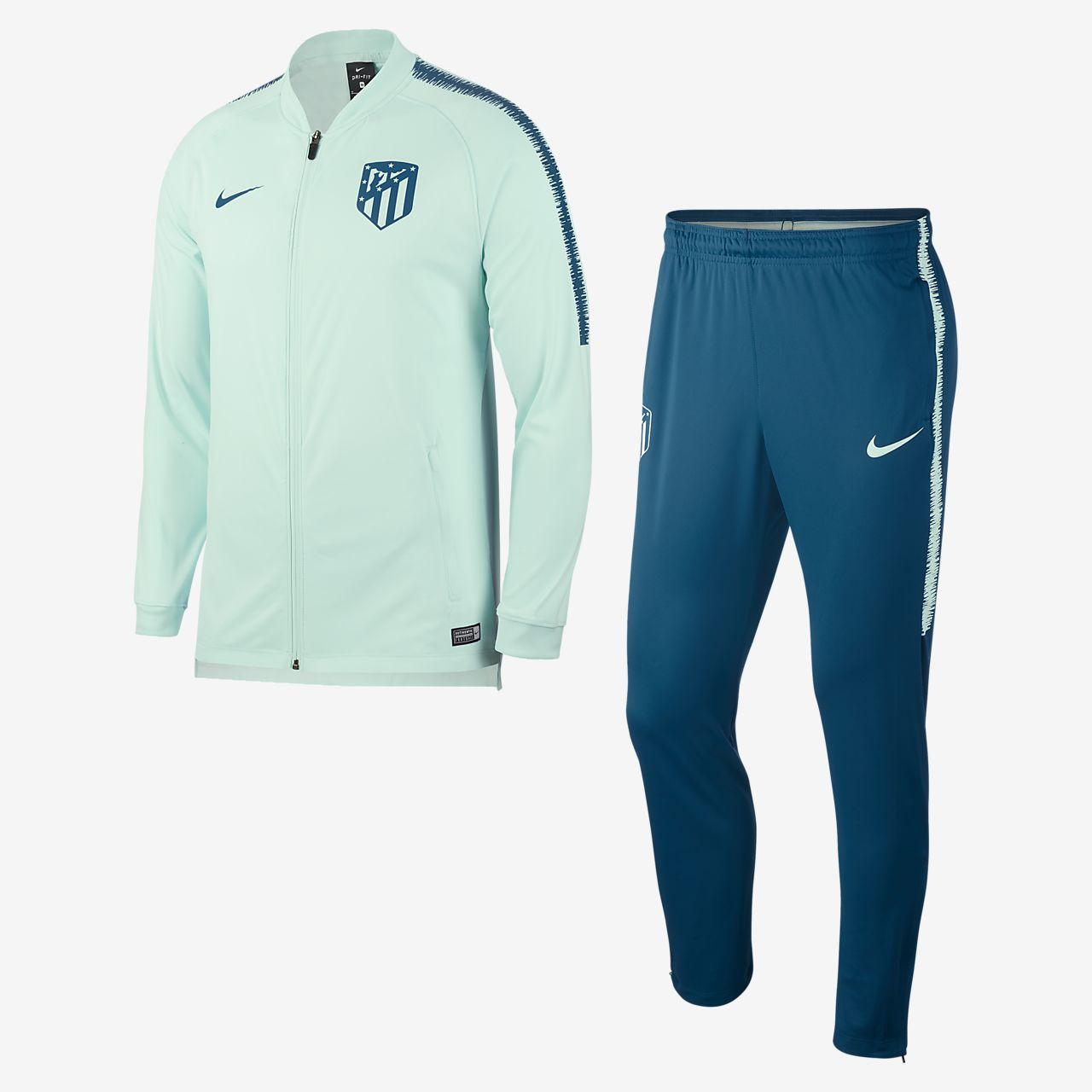 Tuta da calcio Atletico de Madrid Dri-FIT Squad - Uomo. Nike.com CH 0cc318957f95f
