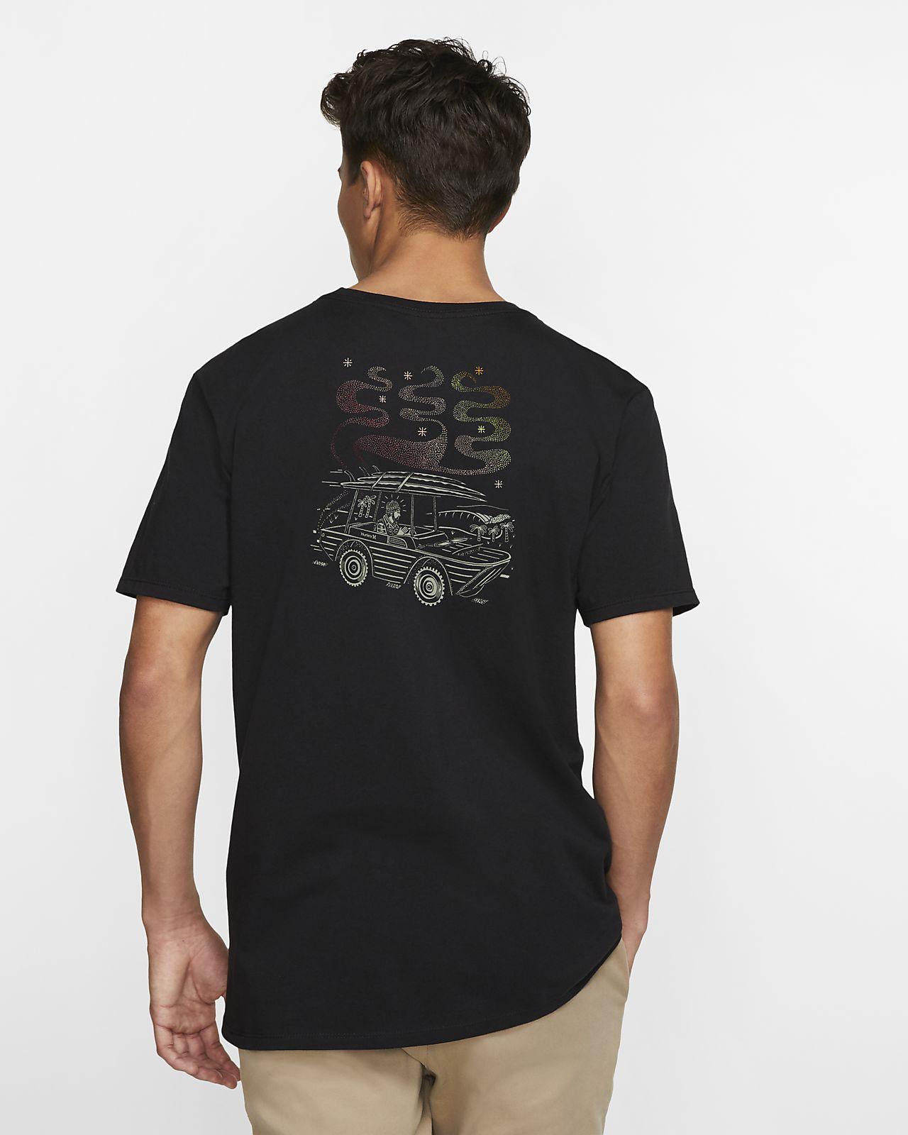 Hurley Premium Search And Destroy Premium Kesim Erkek Tişörtü