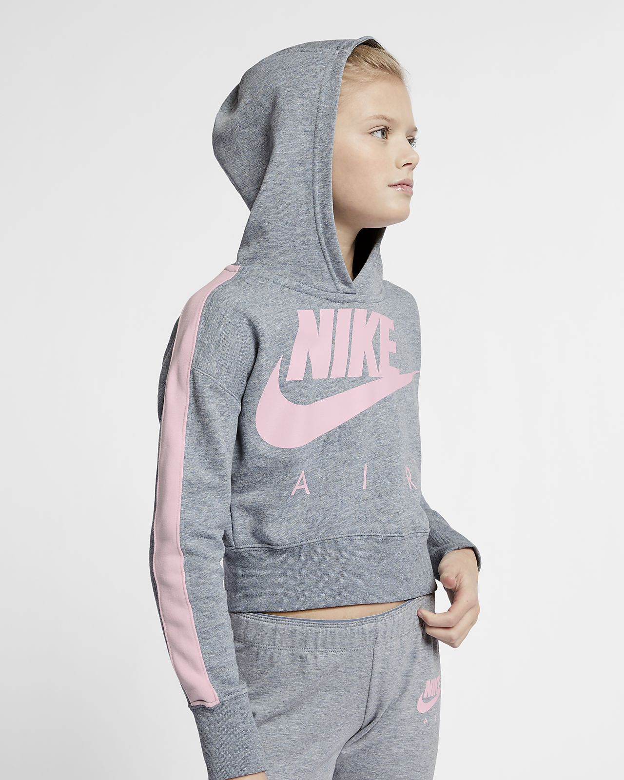 Sweat à capuche court Nike Air pour Fille plus âgée