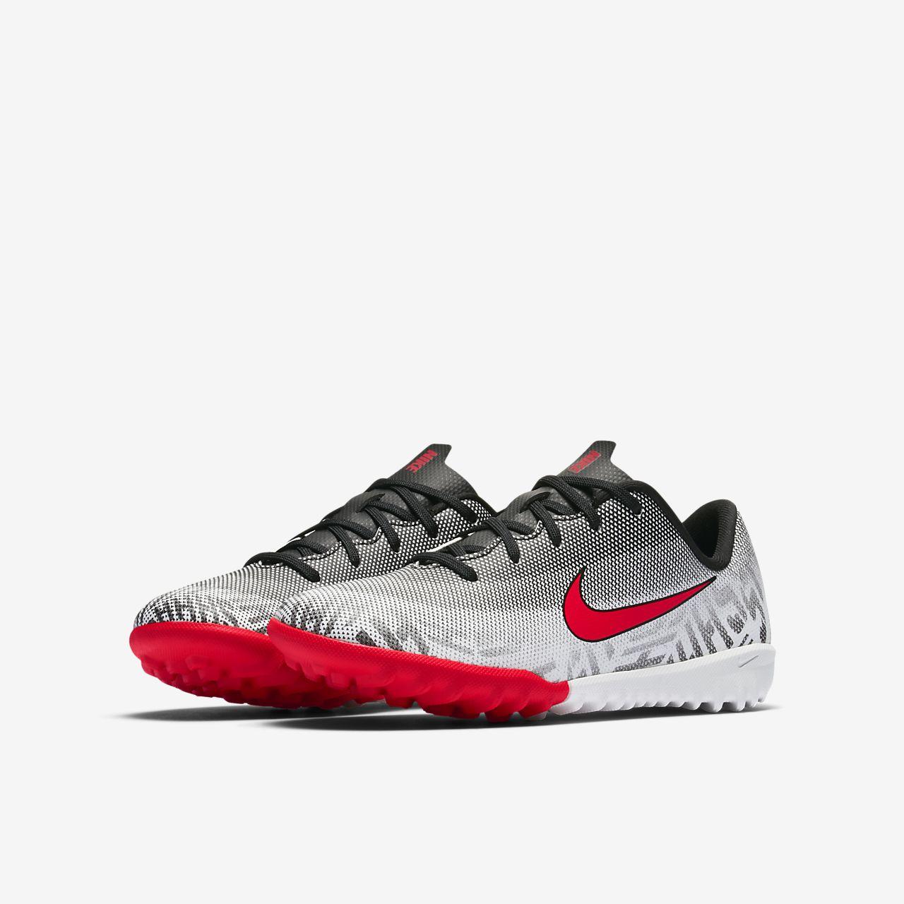 buy popular 51f1d 2775e ... Nike Jr. Mercurial Vapor XII Academy Neymar Jr-fodboldstøvle til små  børn til kunstgræs