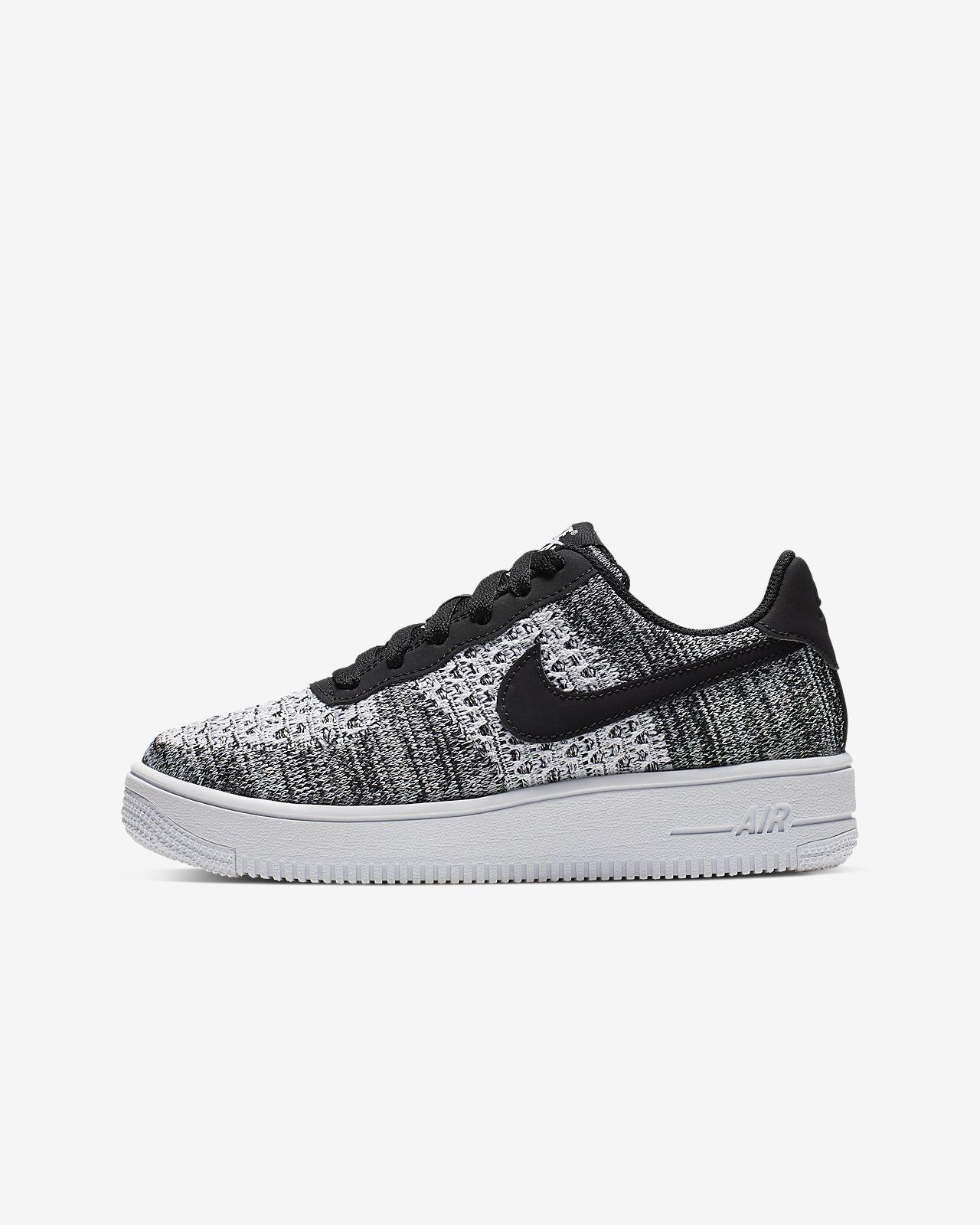 Nike Air Force 1 Flyknit 2.0 sko til små / store barn